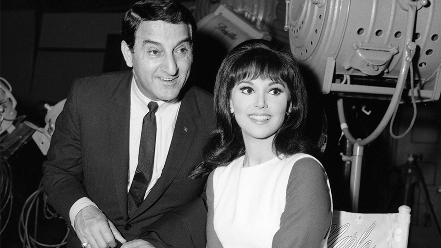 Danny Thomas with his daughter Marlo Thomas. — Getty