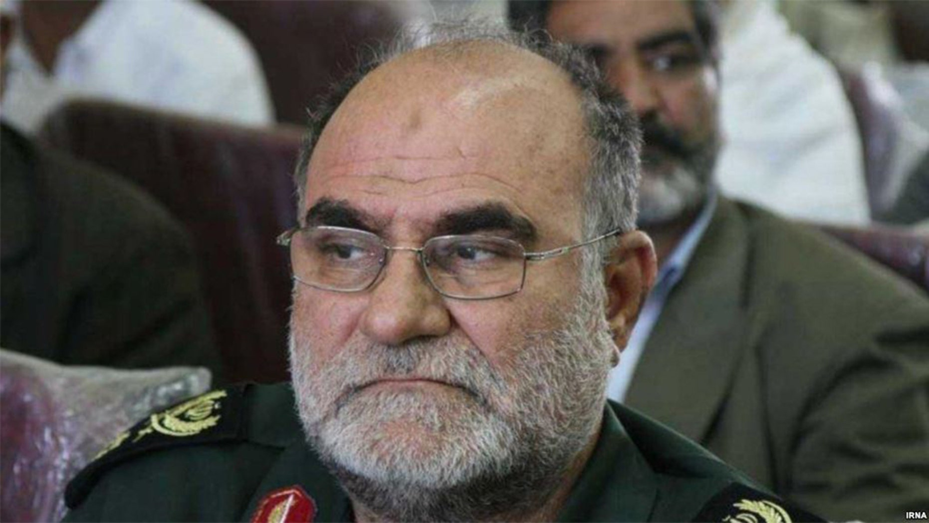 Iranian Gen. Ghodratollah Mansouri shot himself in the head by accident, according to a report.