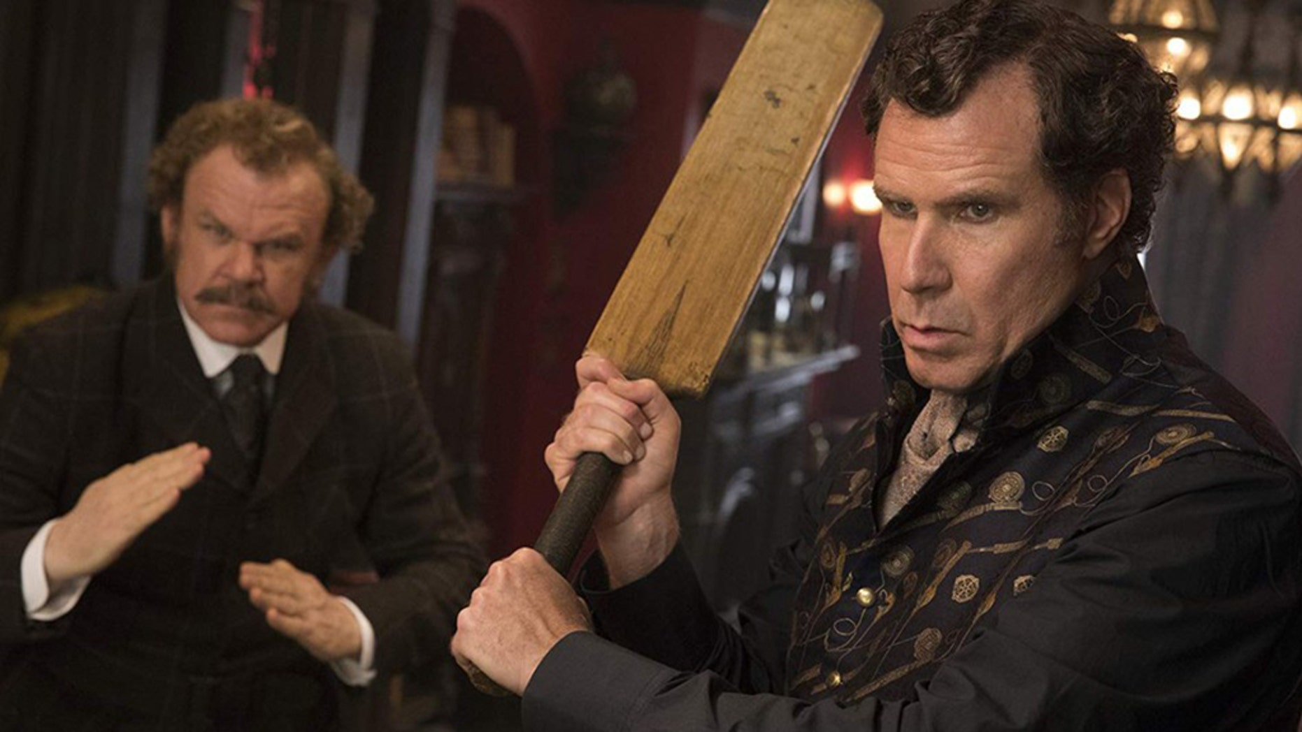 """Will Ferrell and John C. Reilly's """"Holmes and Watson"""" has been largely mocked by film critics."""