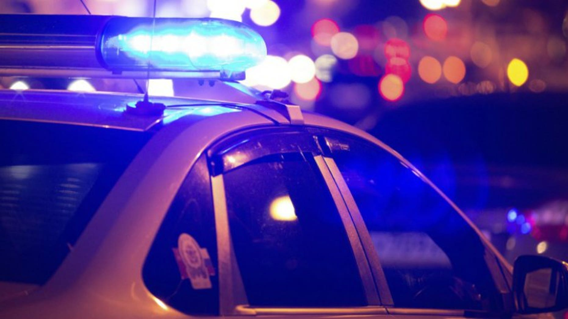 A man in Forest Hill told police he was shot at while driving home from a holiday party.