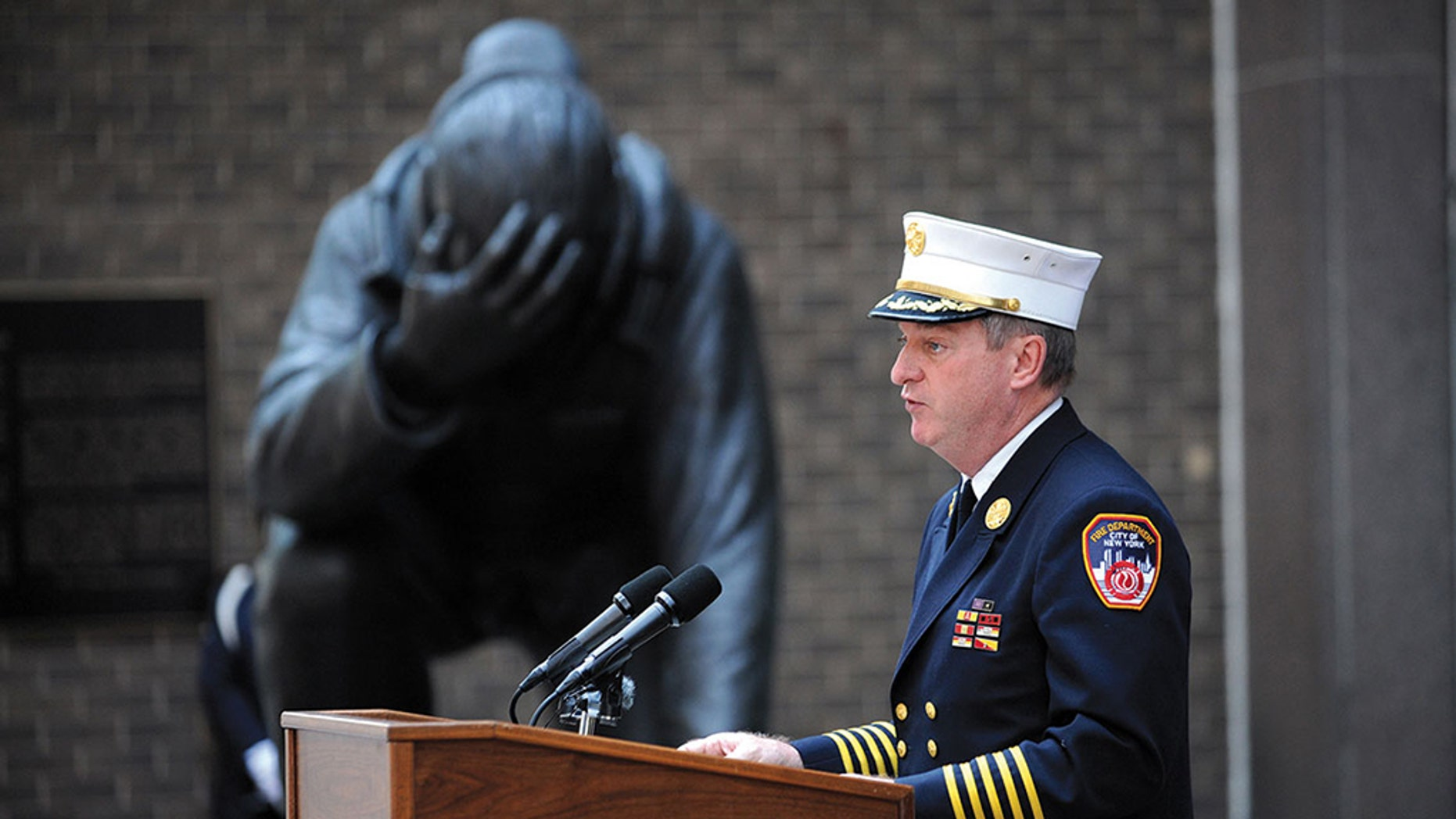 FDNY Chief of Department James Leonard