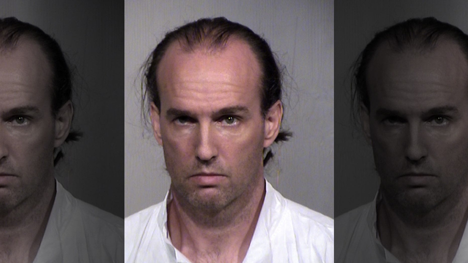 Police say a Phoenix man, 45-year-old Jonathan Conaway, accused of killing his wife told officers his spouse had become a burden after she suffered a stroke. (Maricopa County Sheriff's Office)