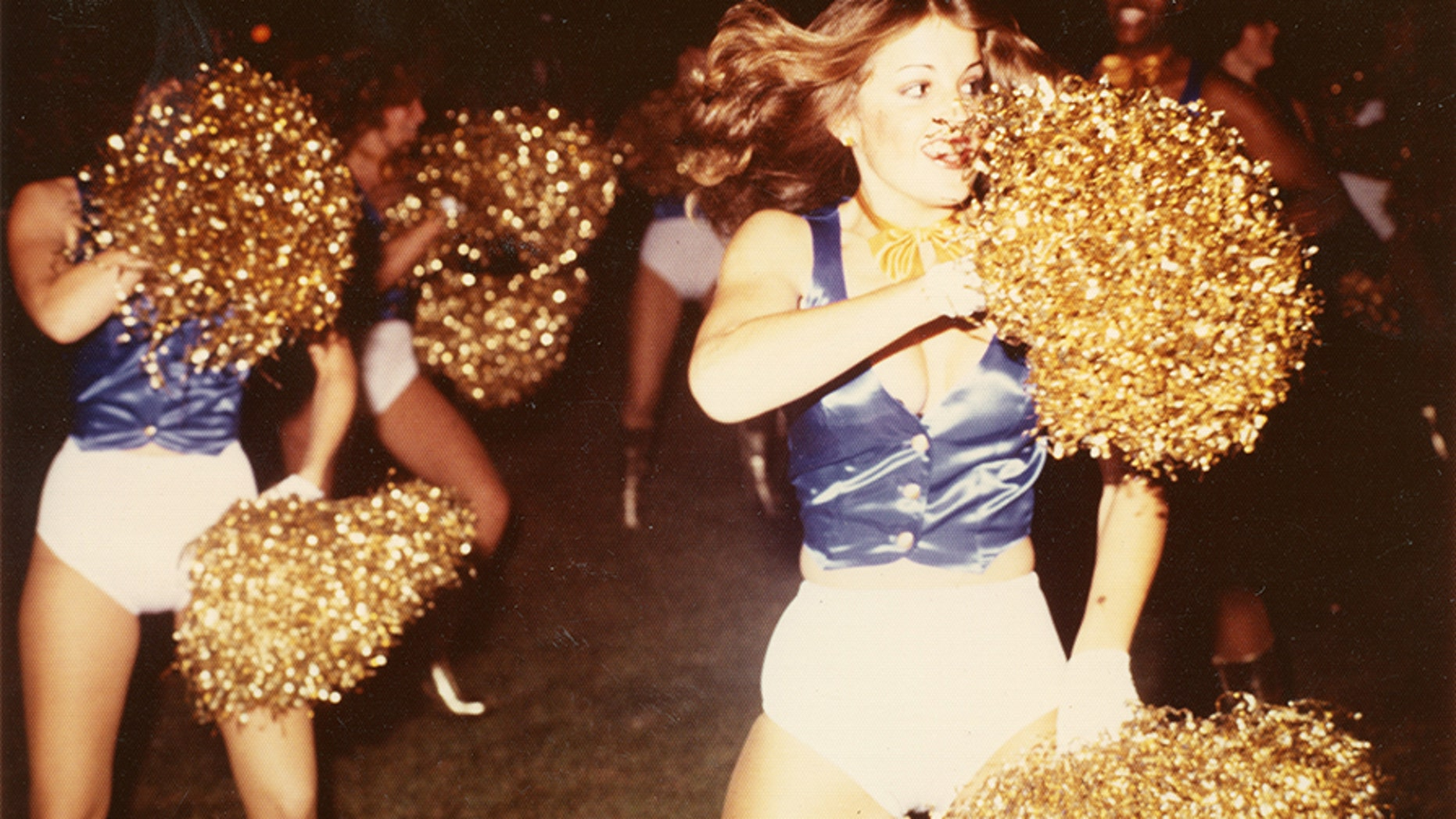 Former Chargettes cheerleader Lynita Stuart came brazen in a documentary patrician Sidelined.