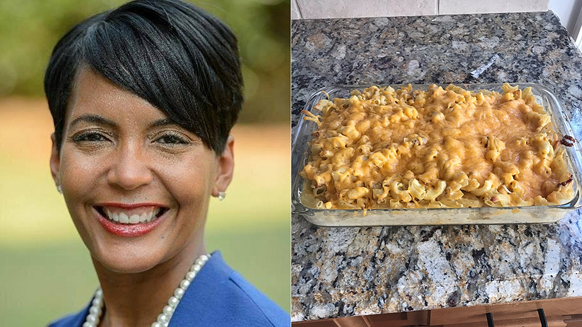 The mayor of Atlanta, Keisha Lance Bottoms, caused a Twitter riot when she tweeted a photo of her homemade mac and cheese.