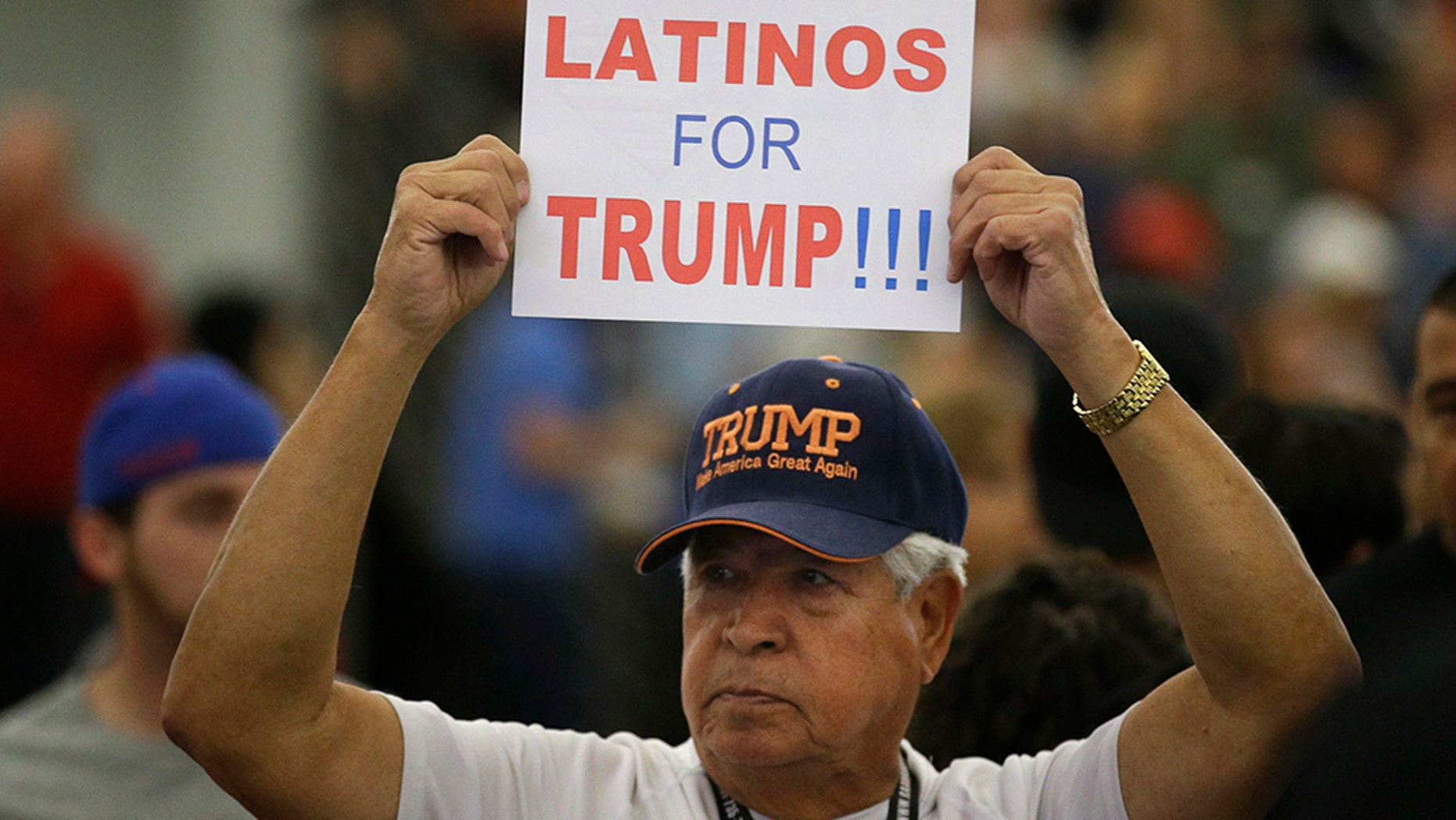 Republicans are holding onto a steady share of the Latino vote in the Trump era. With a president who targets immigrants from Latin America, some analysts predicted a Latino backlash against the GOP. But it hasn't happened. Data from AP's VoteCast survey suggests Republicans are holding on to support from Latino evangelicals and veterans. (AP Photo/Jae C. Hong, File)
