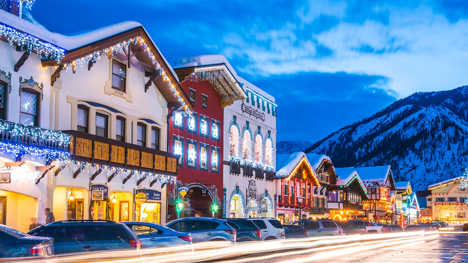 Christmas Towns.10 Of The Coziest Christmas Towns In America Fox News