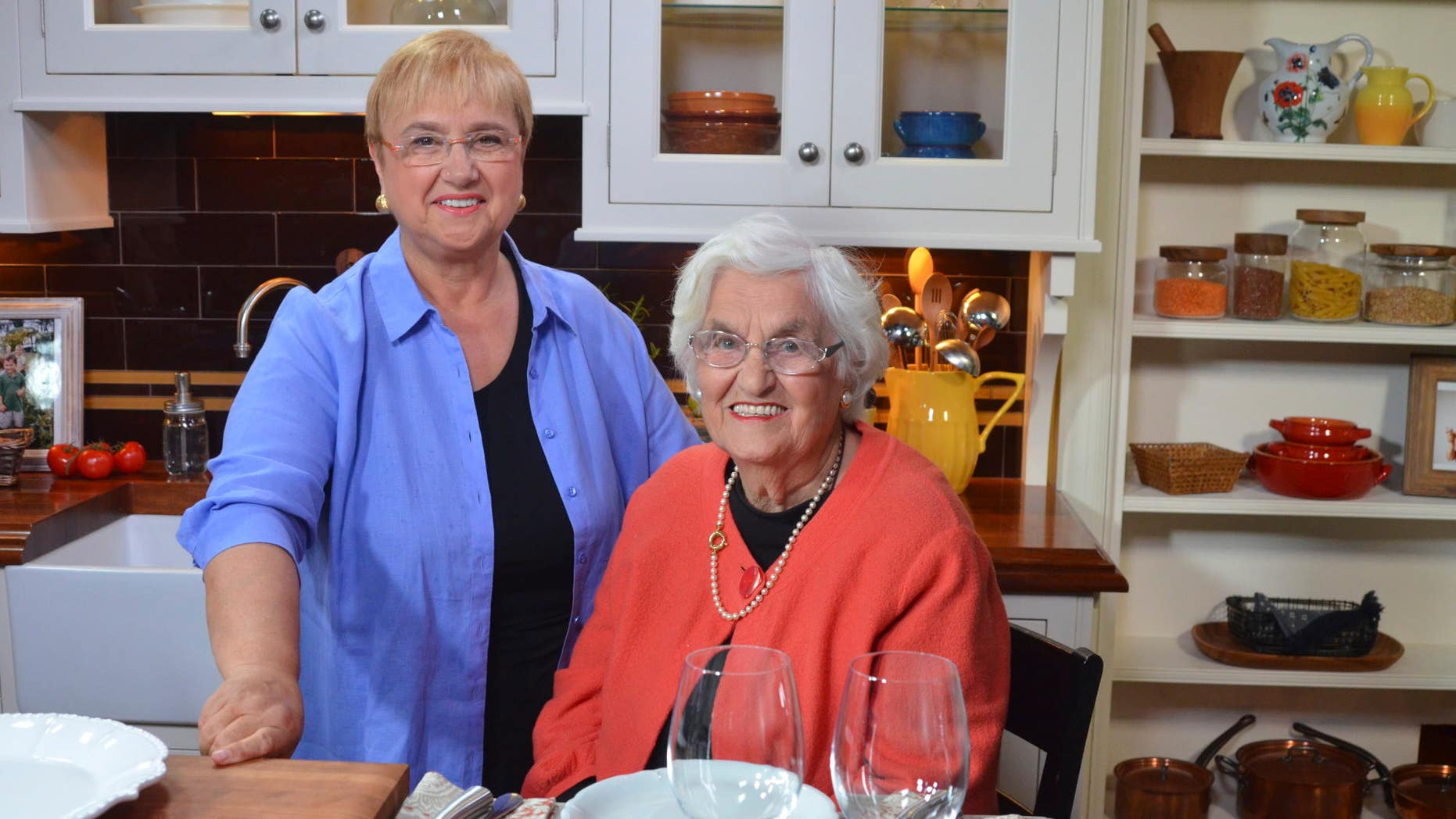 Lidia Bastianich and her mother Erminia