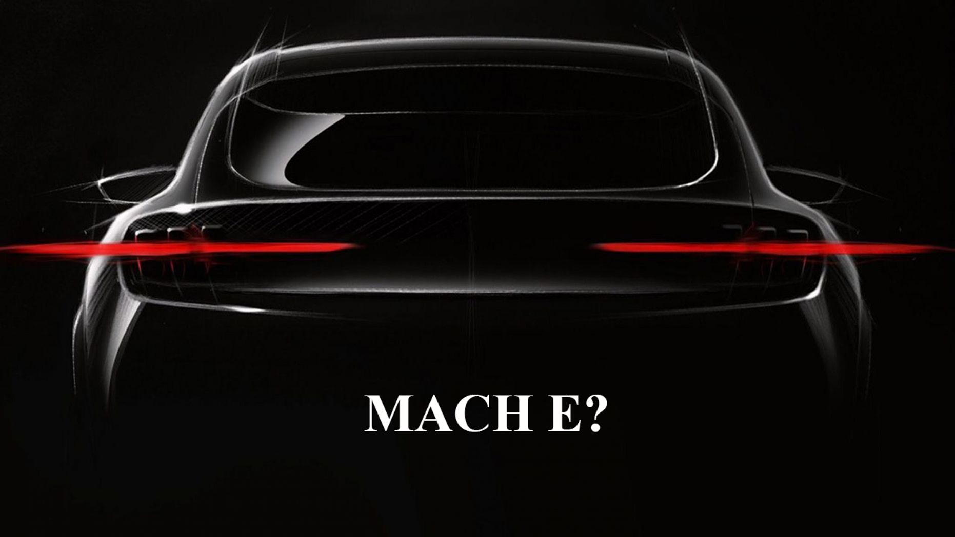 Ford released a teaser image of the electric SUV in September