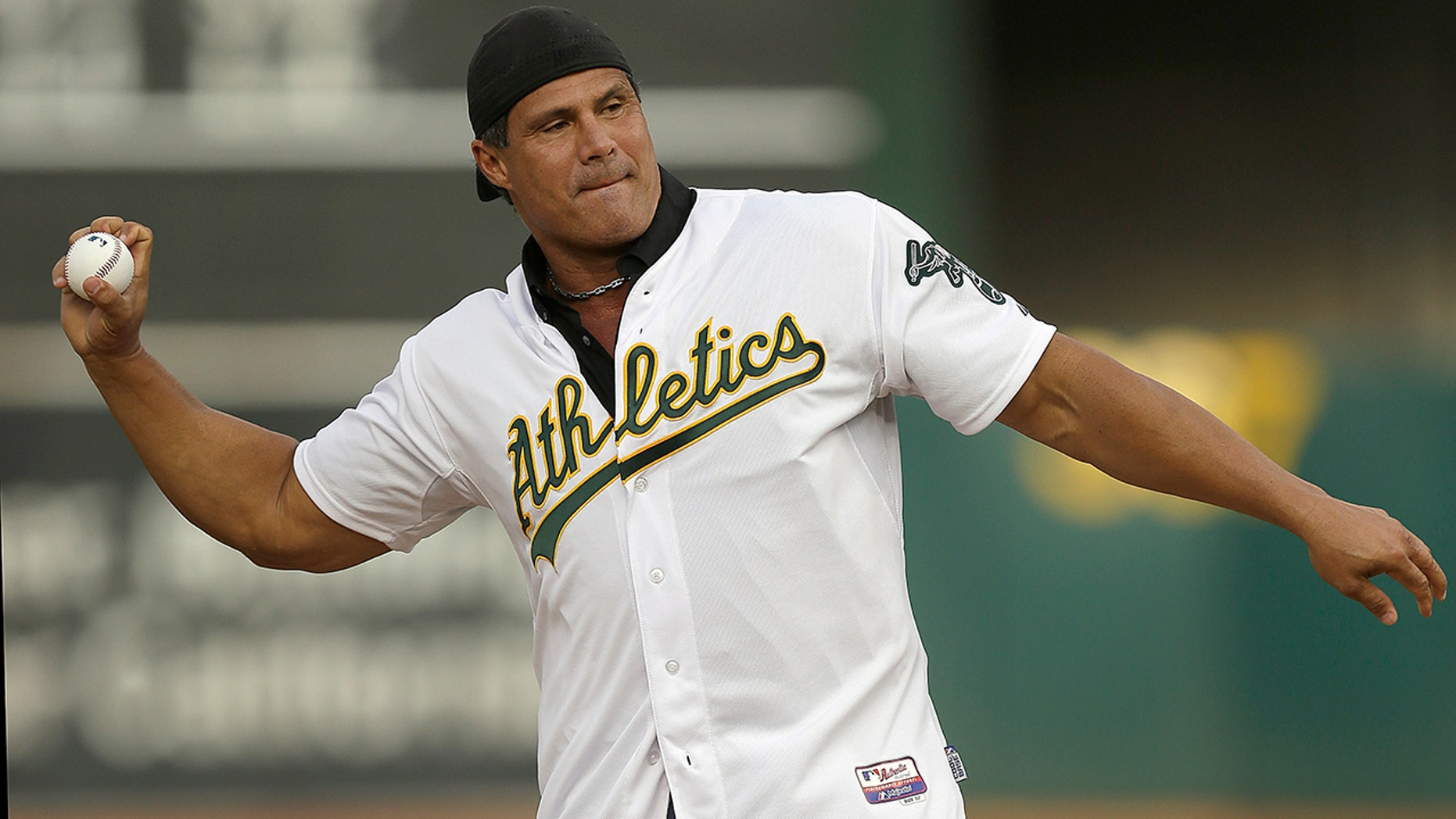 """Jose Canseco, a former major league slugger, has made his pitch for a big job at the White House, tweeting President Donald Trump: """"u need a bash brother for Chief if (sic) Staff."""""""
