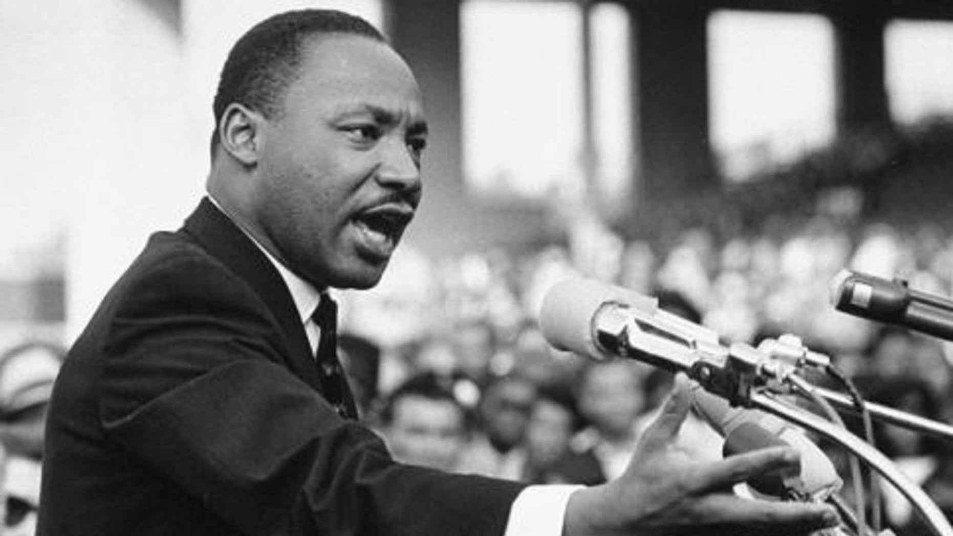 """Dr. Martin Luther King, Jr. delivering his """"I Have a Dream"""" speech in Washington, D.C."""