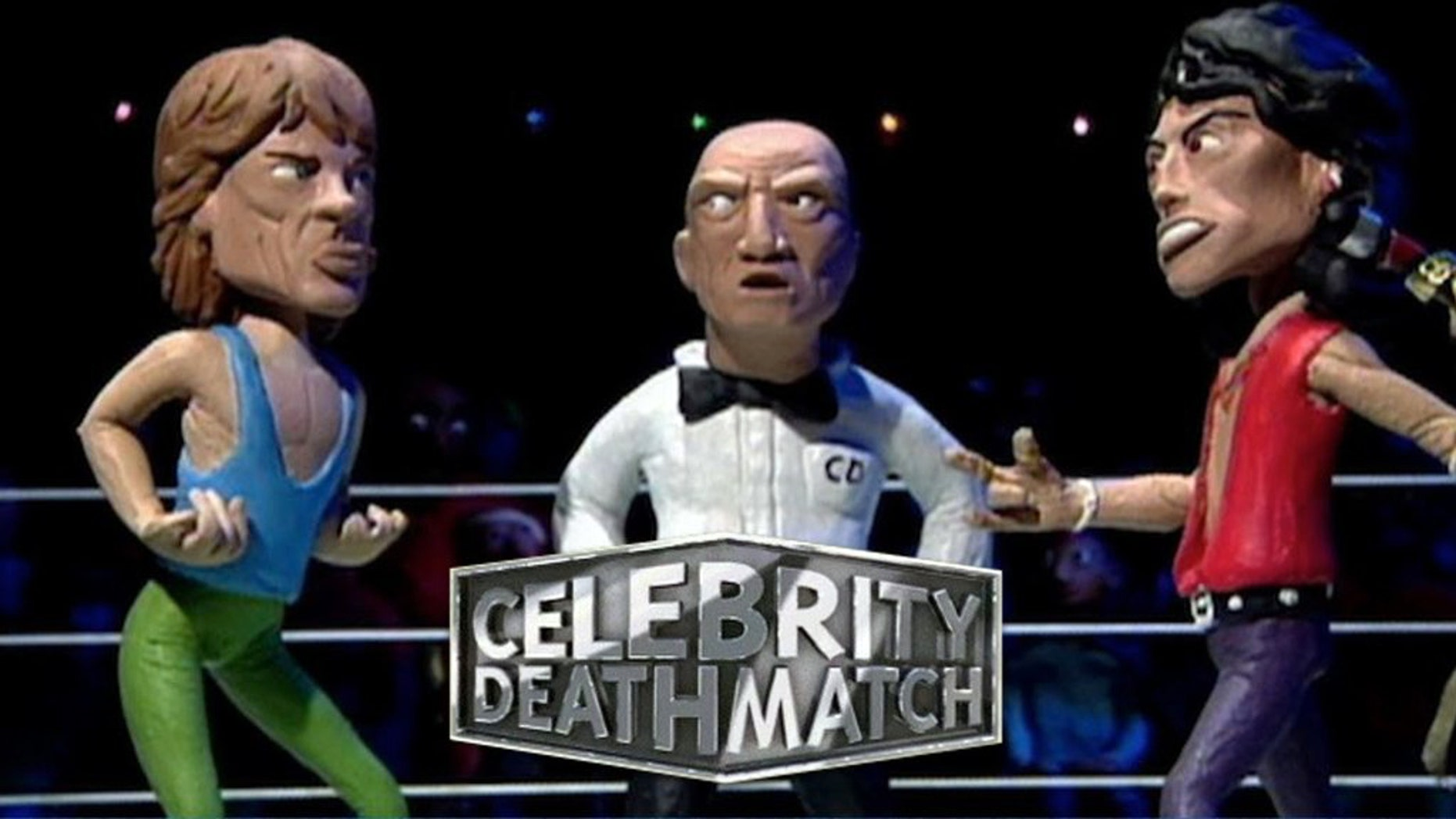 Celebrity Deathmatch - Lucy Lawless vs. Calista Flockhart ...