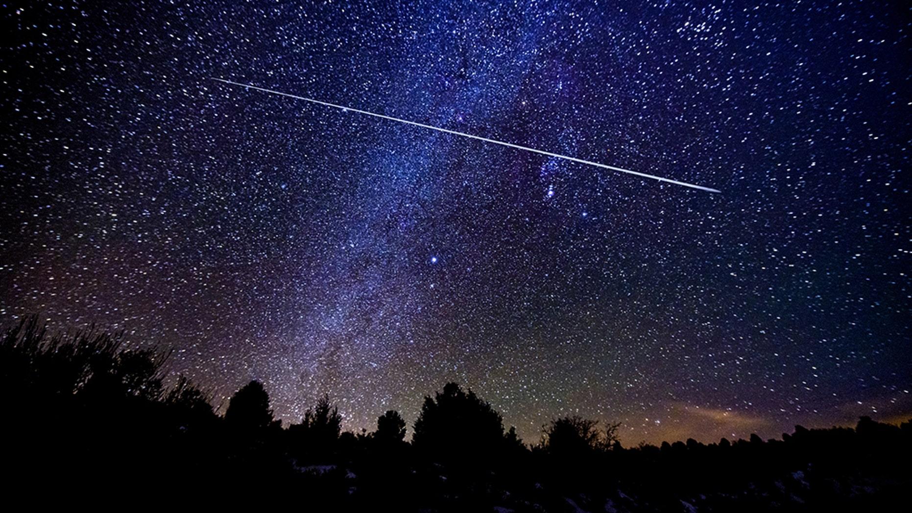 The fireball zoomed over Cambridge, Minnesota early Thursday morning. (iStock)