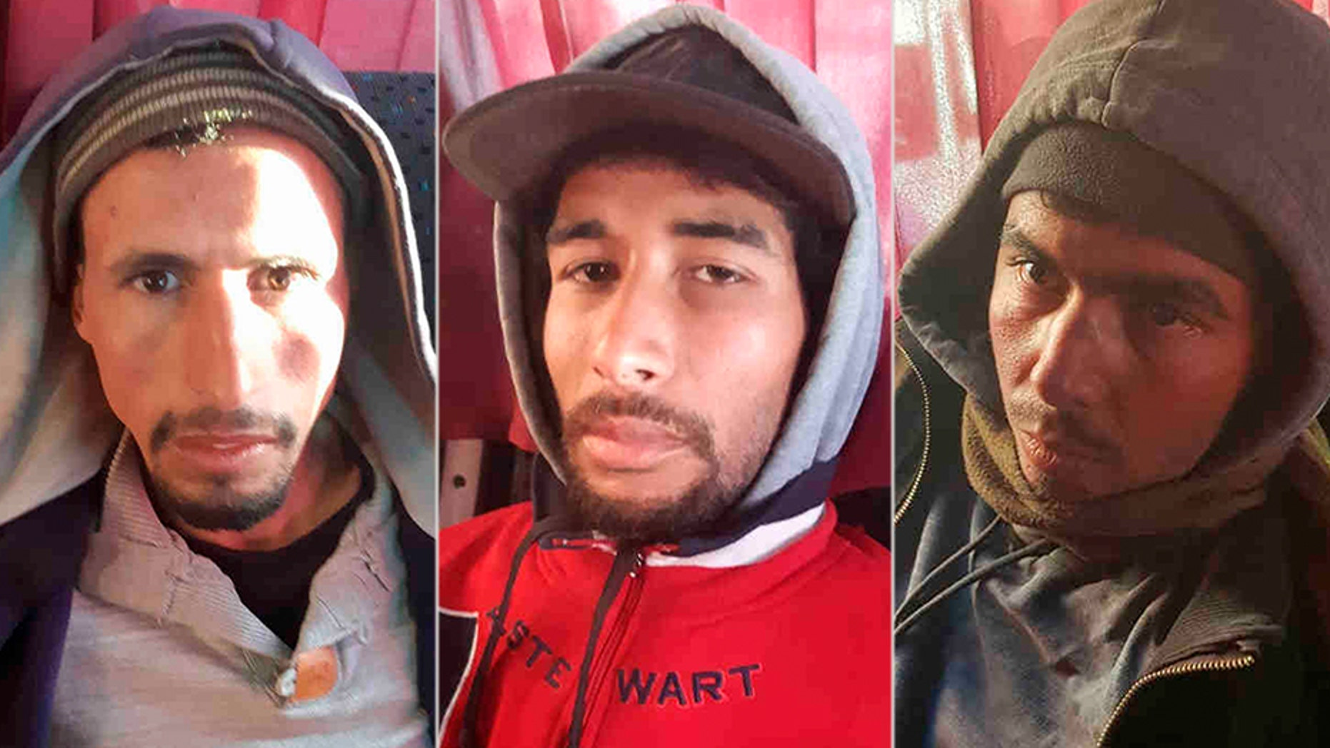Abdessamad Ejjoud,Rachid Afatti andYounes Ouaziyad are three of the prime suspects in the murder of two Scandinavian hikers