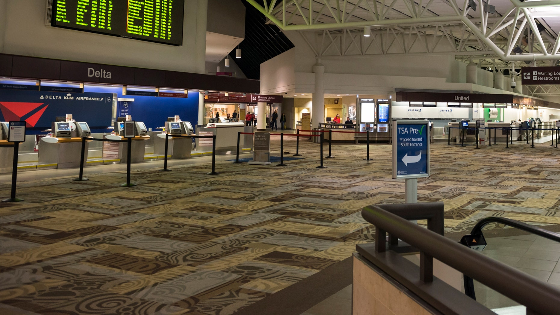 The Carpet At Nashville International Airport Is Having A