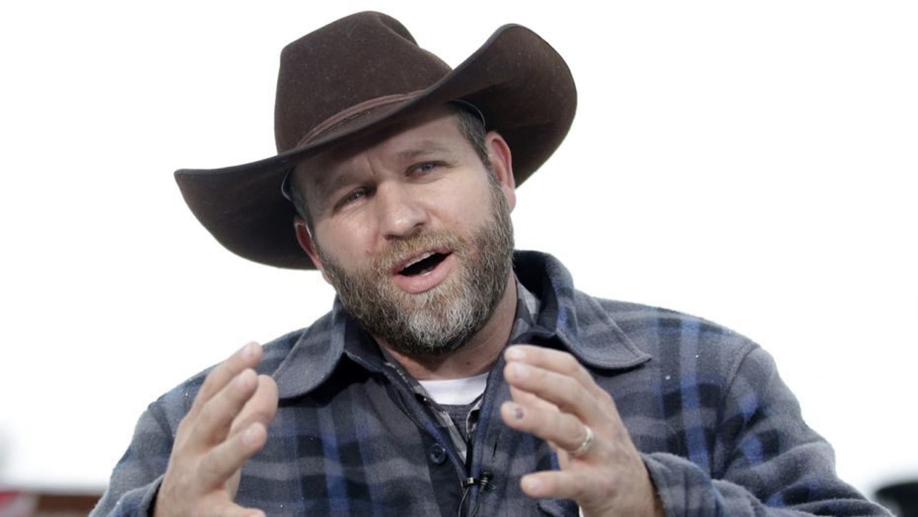 Ammon Bundy said he was leaving social media after receiving backlash from his Trump criticism.