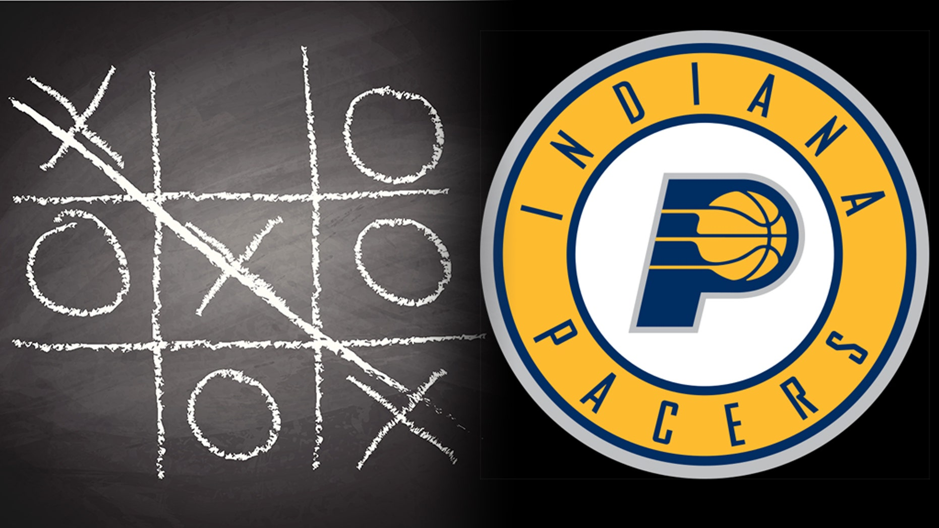 An embarrassing game of tic-tac-toe between two Indiana Pacers fans went viral.