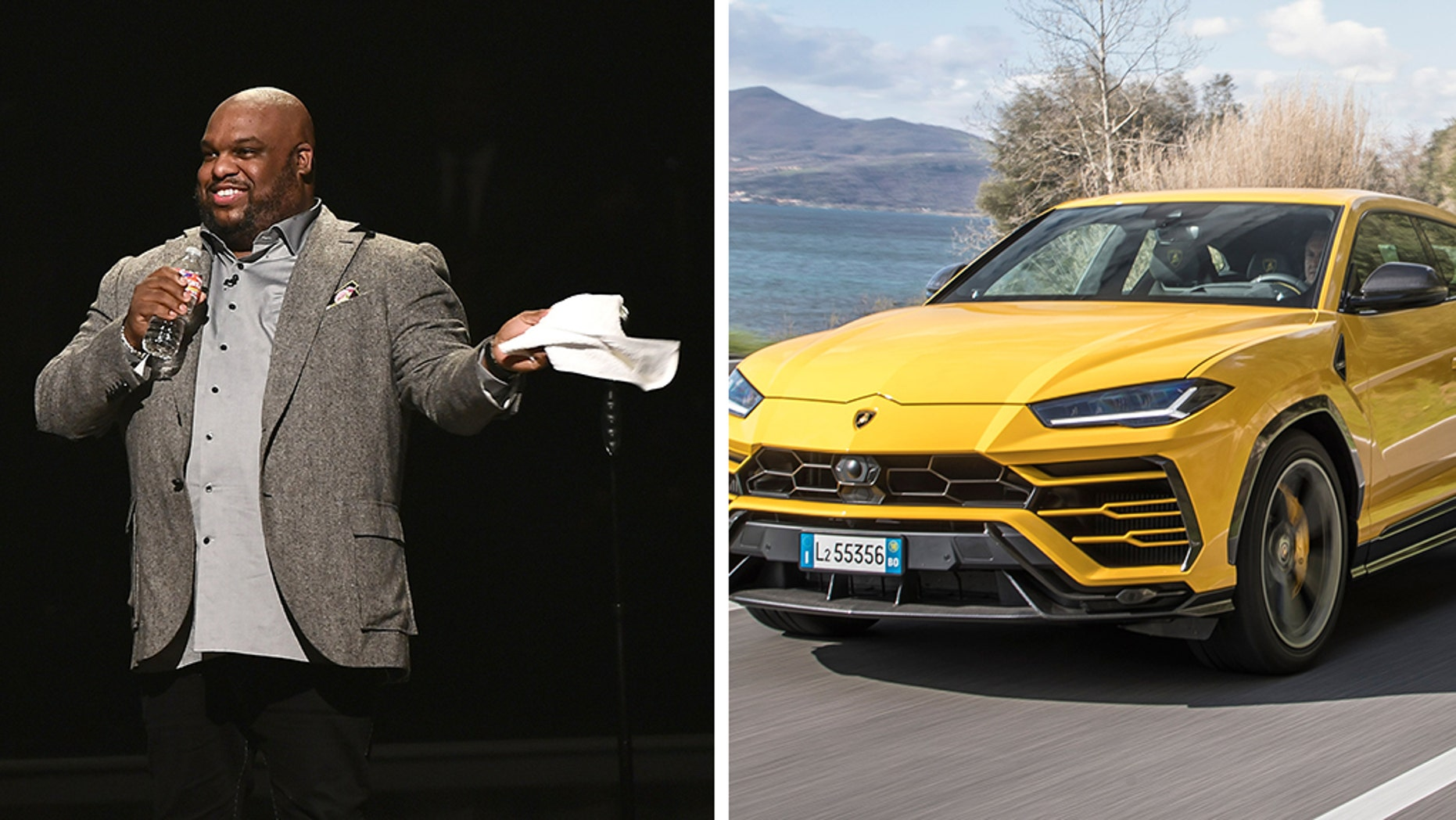 Pastor John Gray came under fire for purchasing a Lamborghini for his wife.