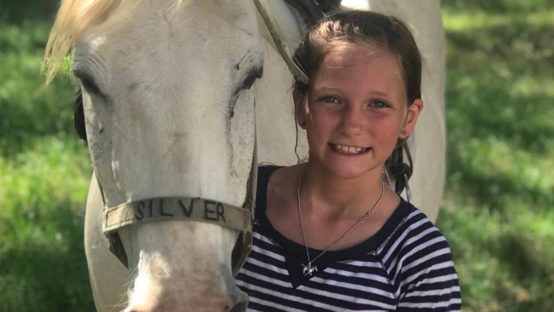 Roxli Doss was diagnosed with diffuse intrinsic pontine glioma, or DIPG, in June. Now, the inoperable brain tumor of the 11-year-old girl in Texas has disappeared, and doctors don't know why.(GoFundMe)