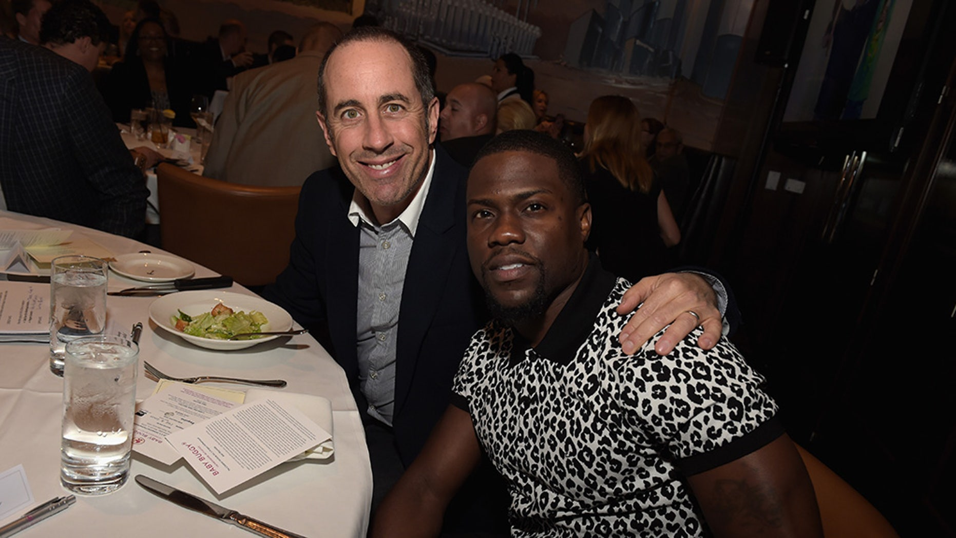 "Jerry Seinfeld weighed in on the Kevin Hart Oscar controversy, saying that he thinks the actor won't be ""so easy"" to replace as a host."