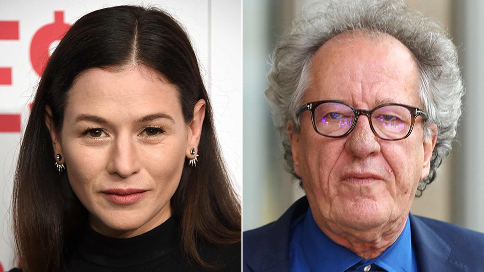 Yael Stone made allegations of inappropriate behavior against Geoffrey Rush.