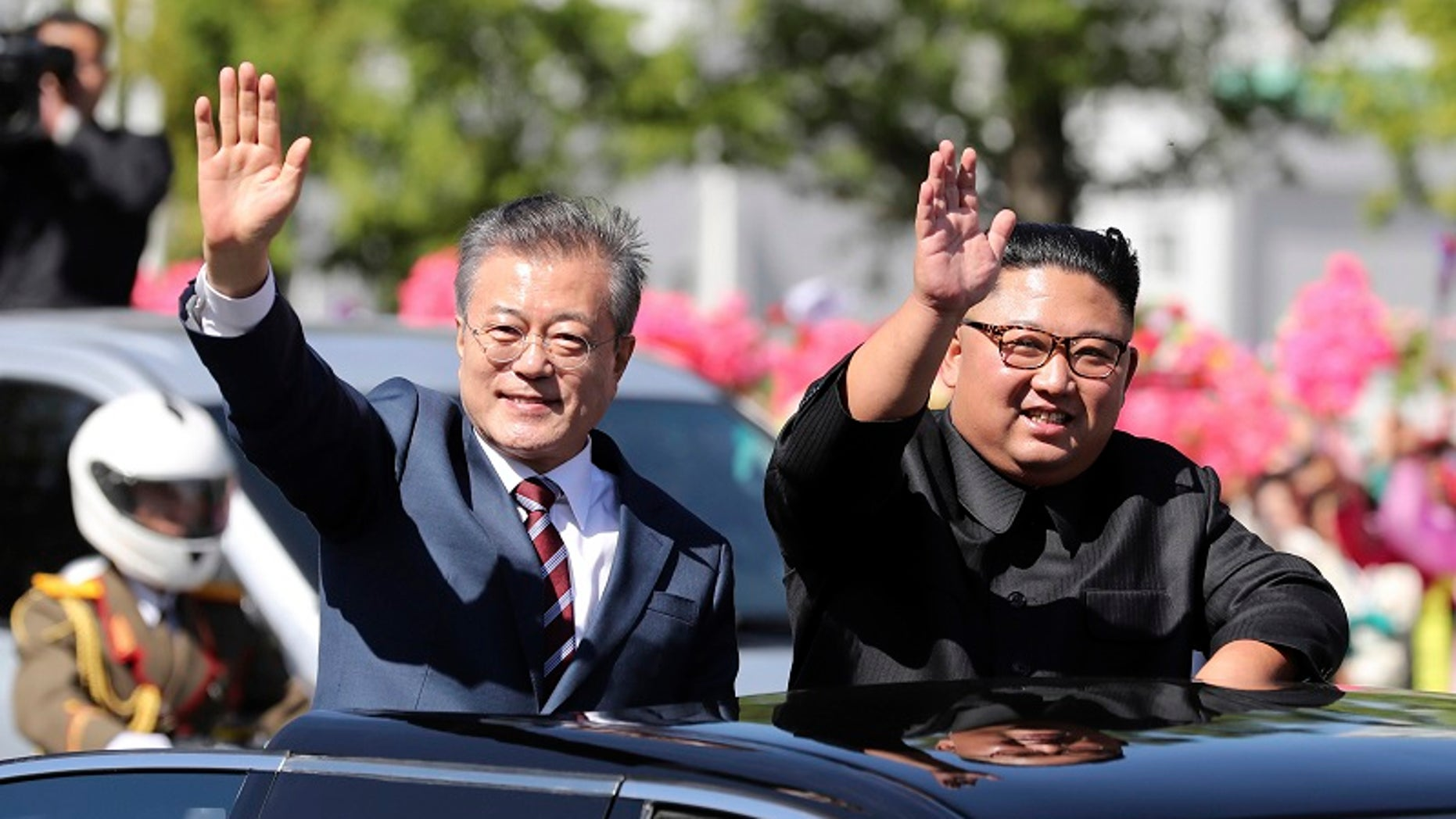 A report said South Korean President Moon Jae-in's official plane was blacklisted by the U.S. because it flew him to North Korea.