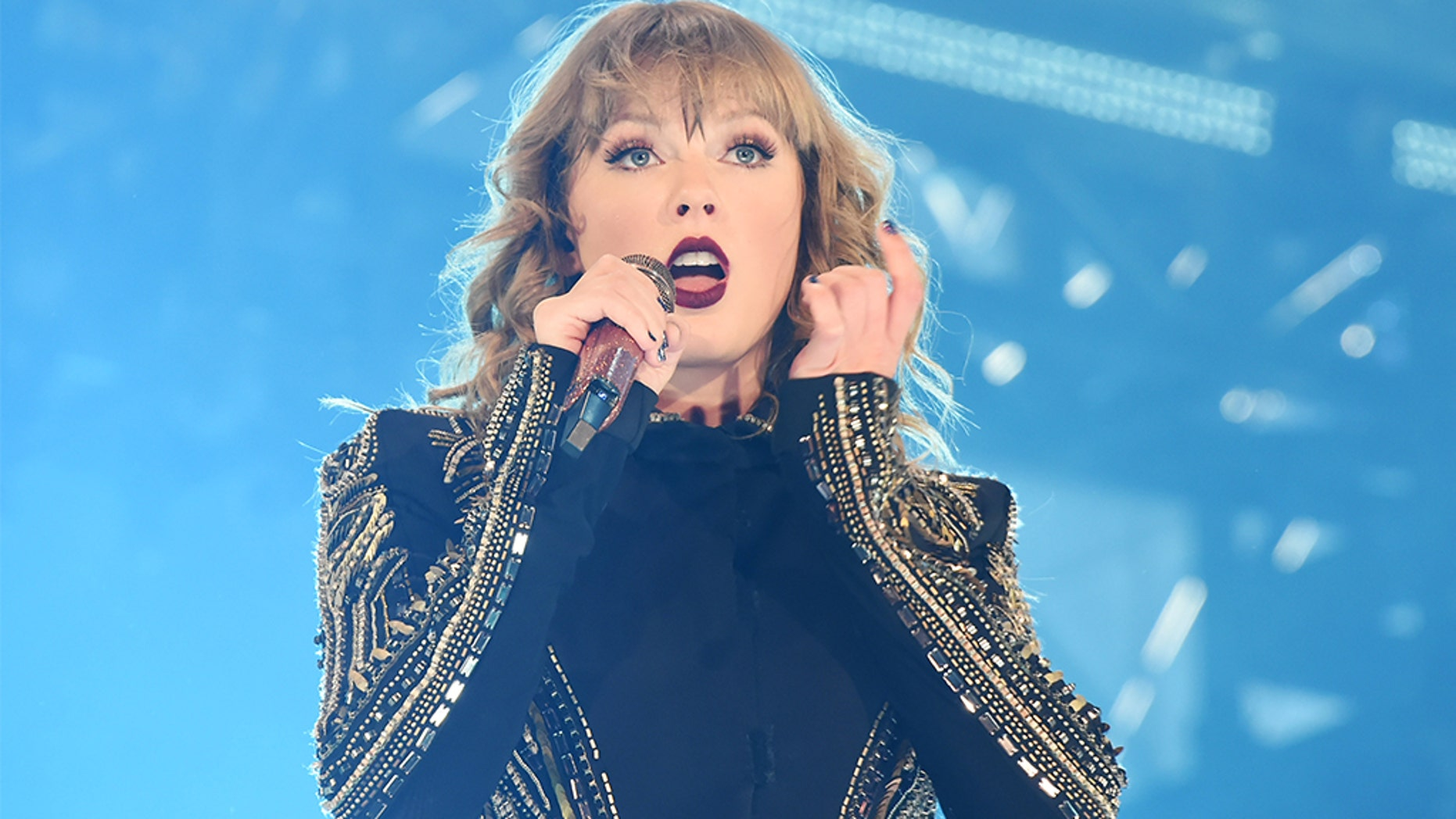 Concertgoers who viewed a kiosk display conceal region up at a Taylor Swift display conceal in Might perchance perchance well well had been reportedly caught on digicam by facial recognition software program that became procuring for stalkers. (Photo by Jun Sato/TAS18/Getty Photos)