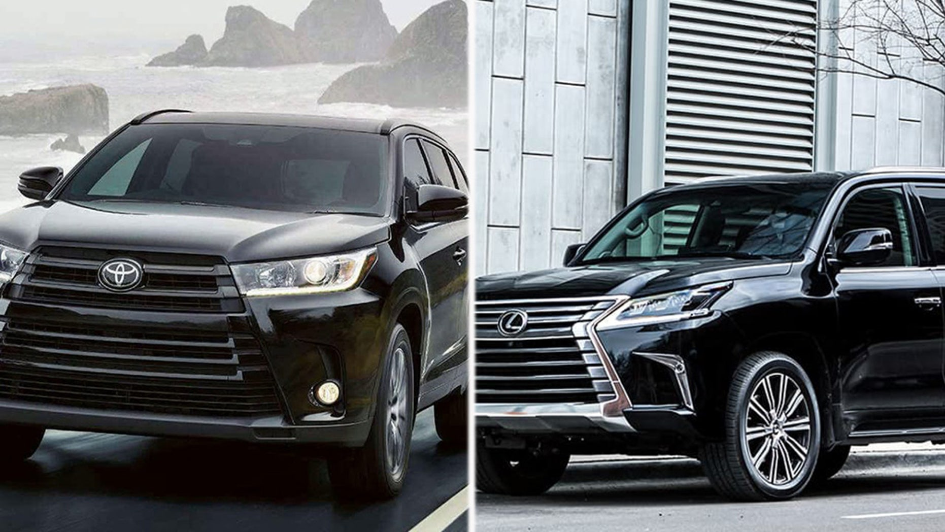 Toyota is recalling about 96,000 Toyota Land Cruisers and Lexus LX570 SUVs from 2008 through 2019.