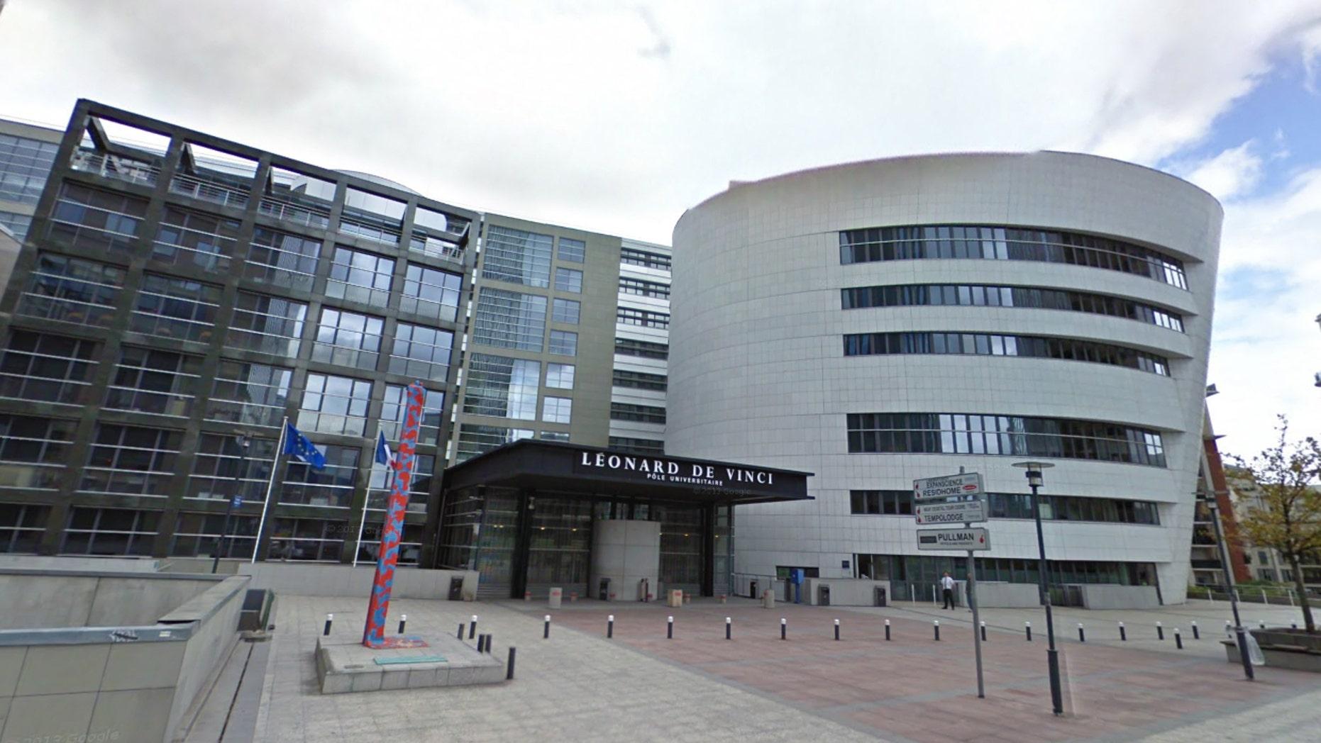 John Dowling, an Irish teacher, was stabbed to death outside the Pôle Universitaire Léonard de Vinci in Paris on Wednesday, Dec. 5, 2018.