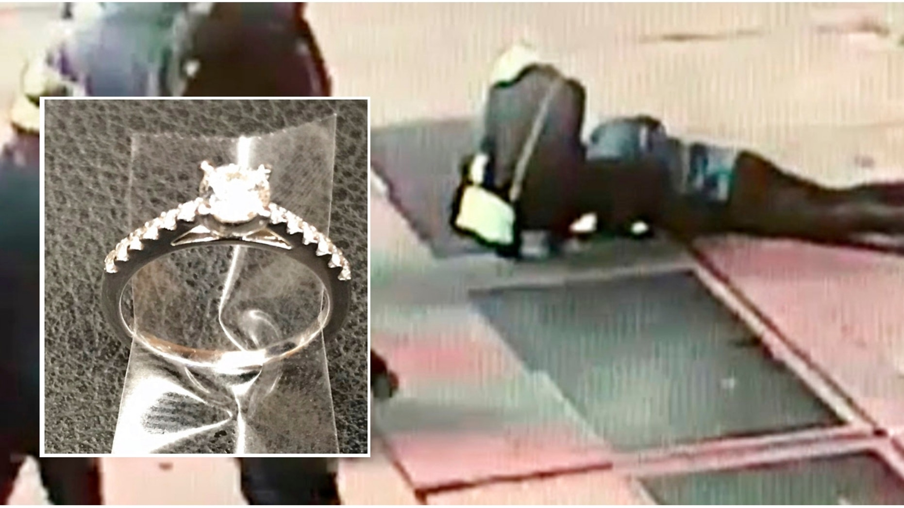 NYPD searches for fiance who dropped ring in street grate