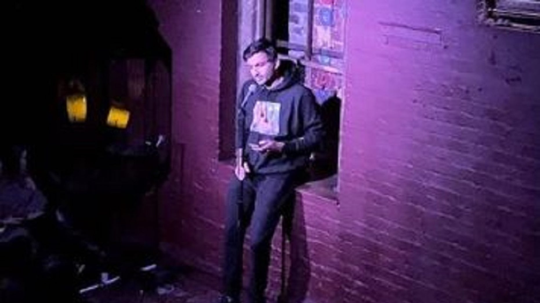FILE: Nimesh Patel's stand-up set was cut short last Friday because the event coordinators found his jokes inappropriate.