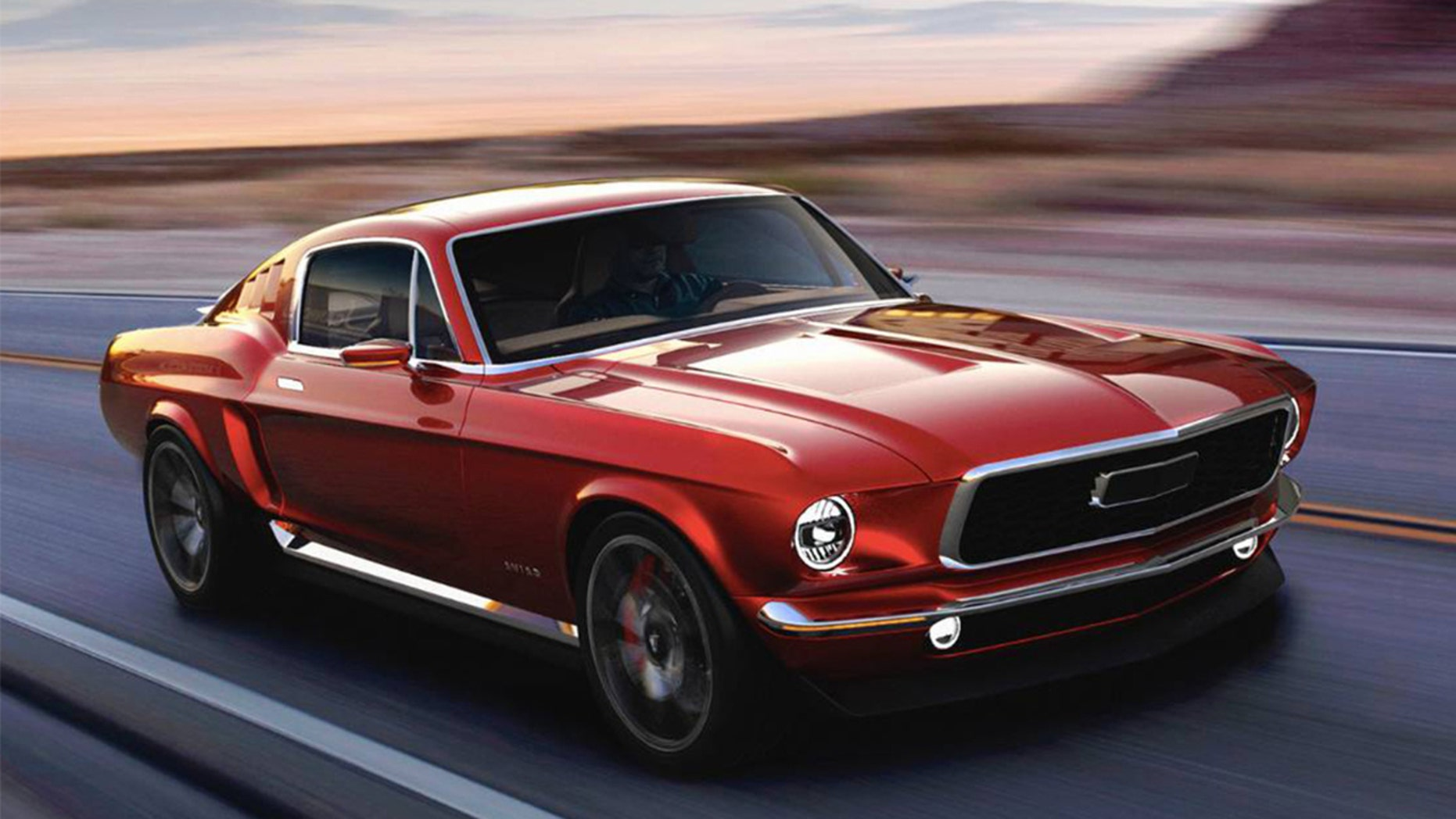 Retro Electric 1967 Ford Mustang Revealed In Russia