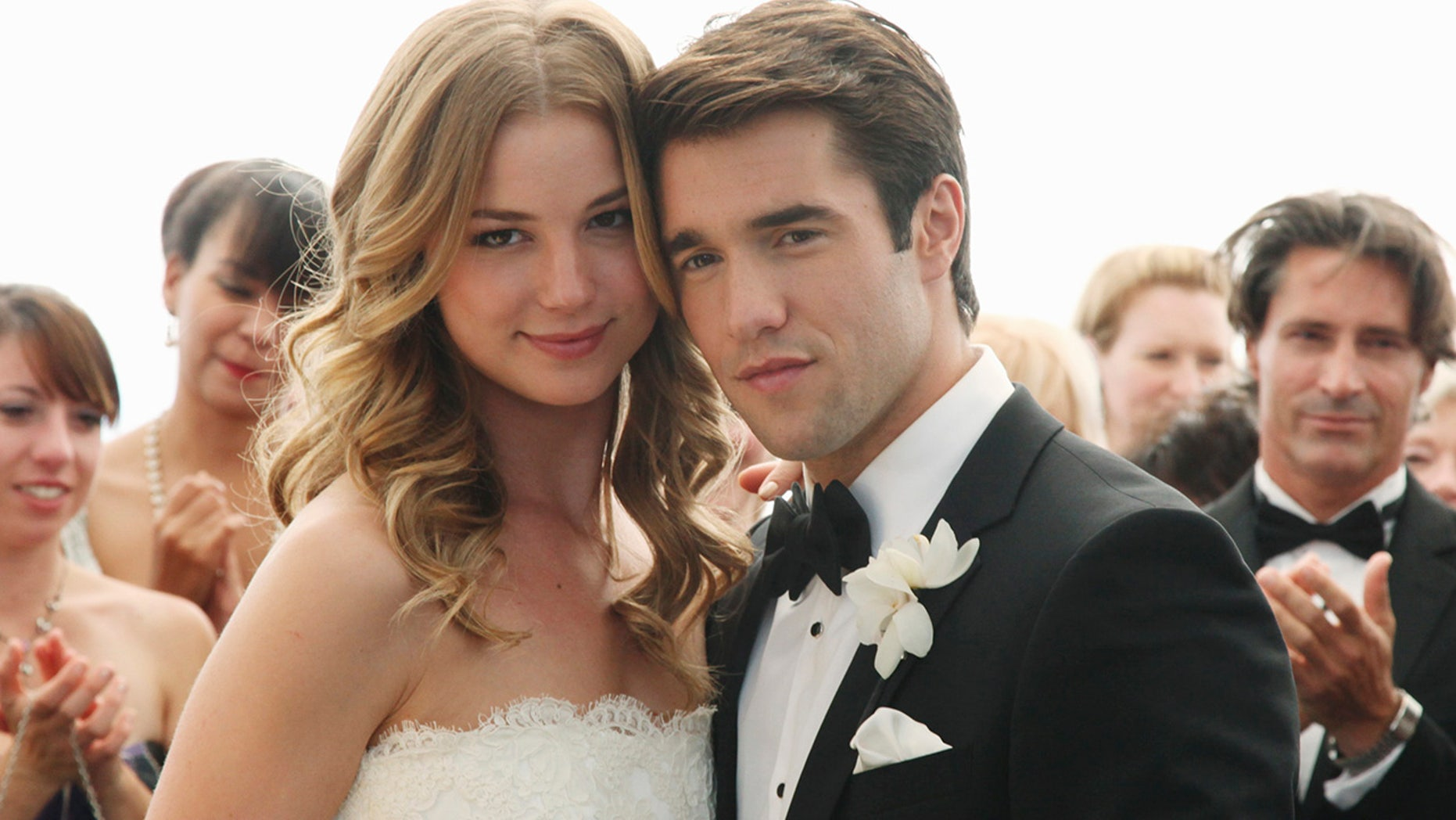"Emily VanCamp and Josh Bowman's ""Revenge"" wedding"