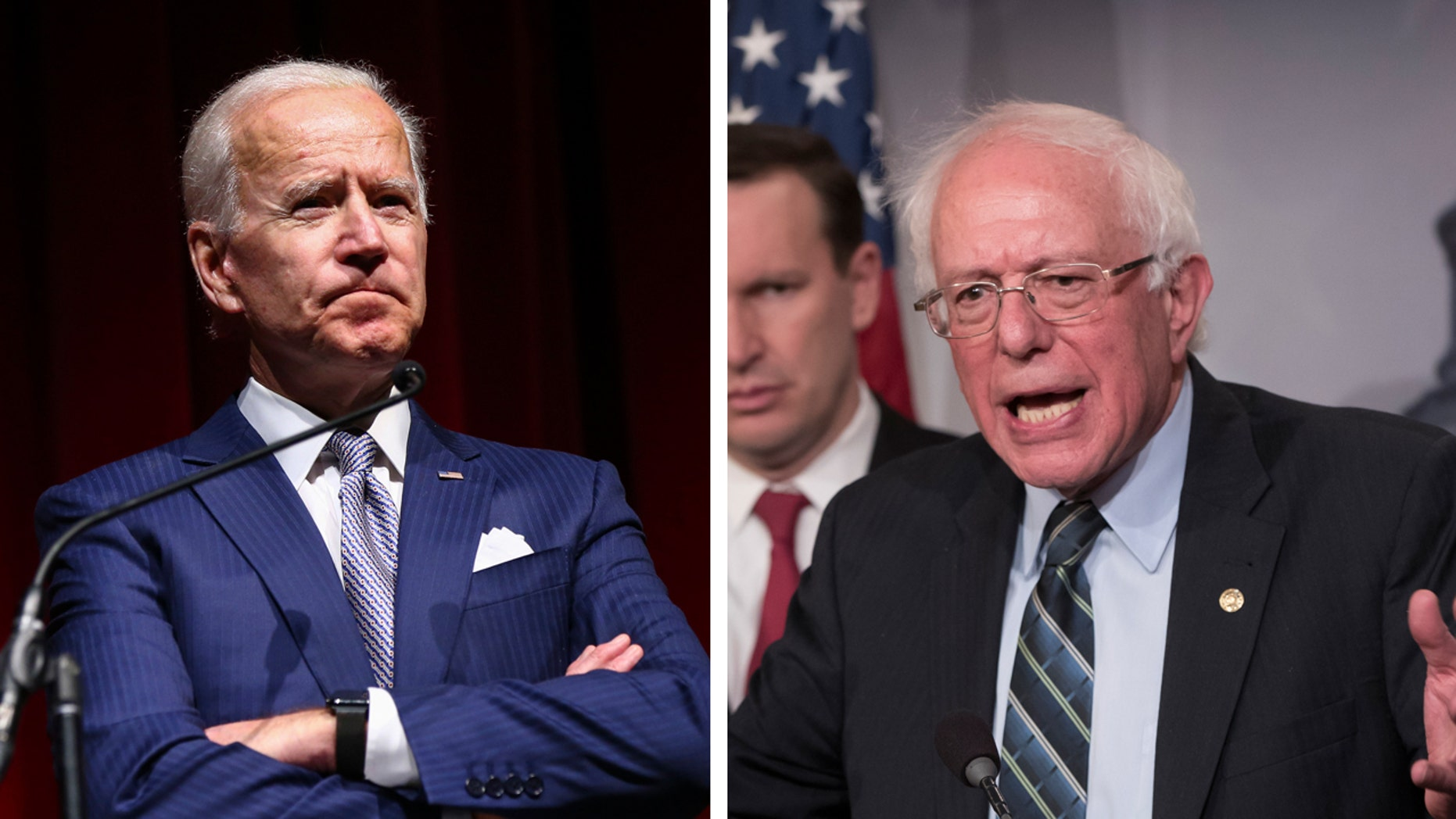 Joe Biden and Bernie Sanderstop the list ofpotential presidential candidates, a poll of likely Democratic Iowa Caucusgoers reveals.