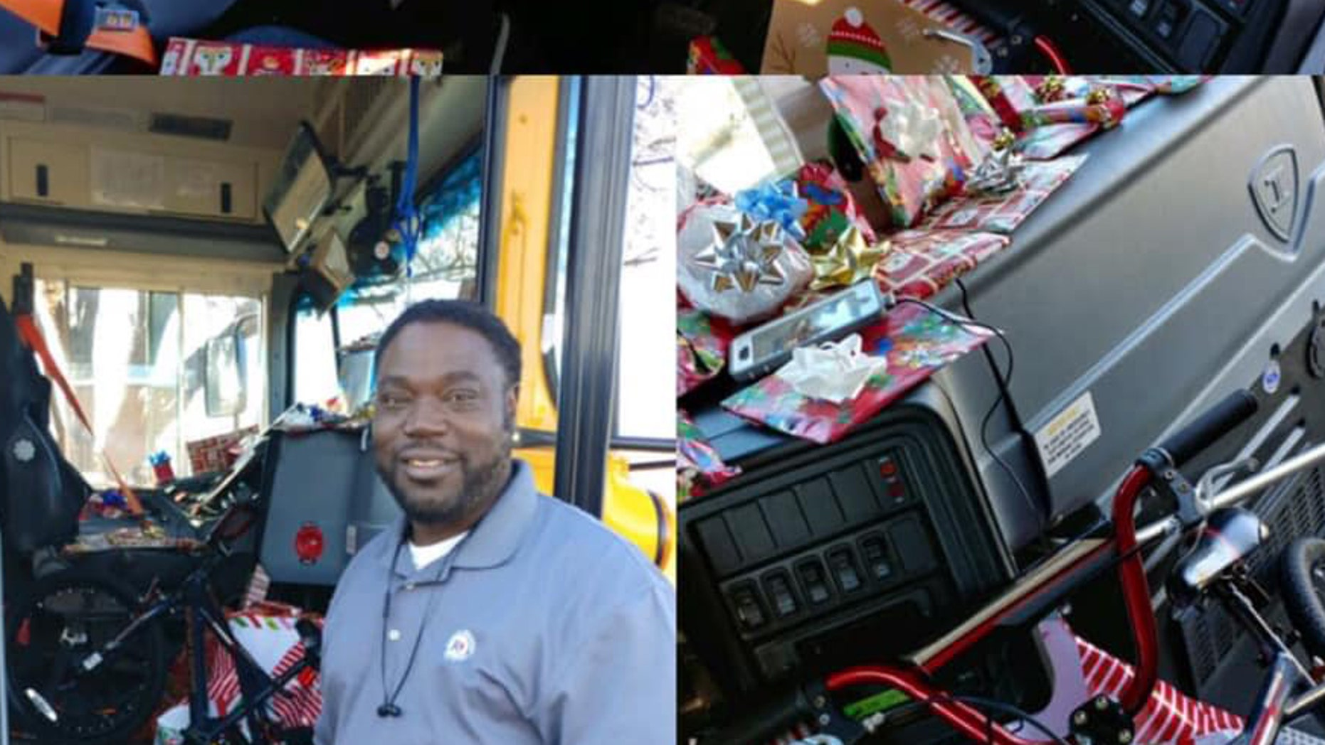 A Texas bus driver likely helped spread a bit of cheer this holiday season when he reportedly bought dozens of presents for kids on his route.