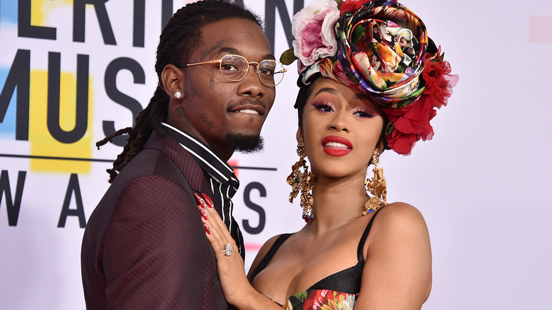 Cardi B shared the first photo of her daughter Kulture on Wednesday, hours after revealing she and husband Offset have split.
