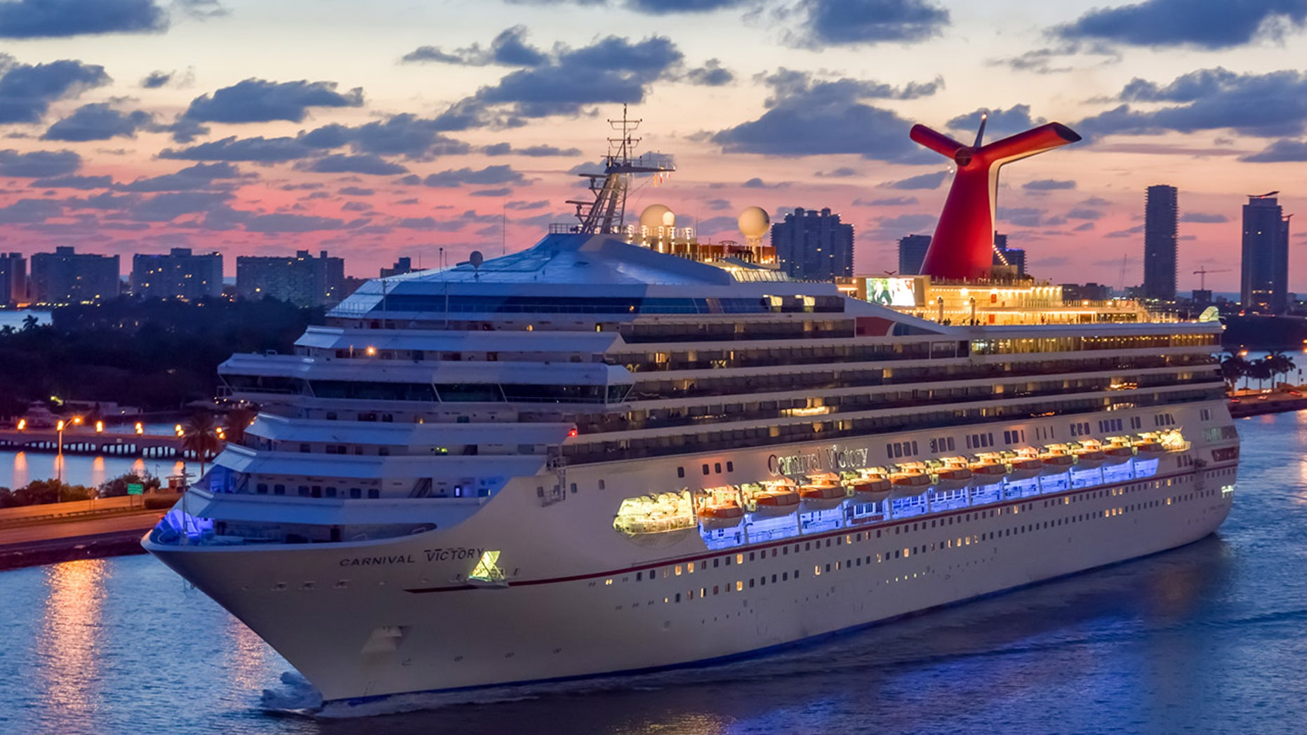 Victory guest Thomas McElhany went overboard at some point during the ship's voyage back to Miami after a four-night cruise that made stops in Key West and Cozumel.