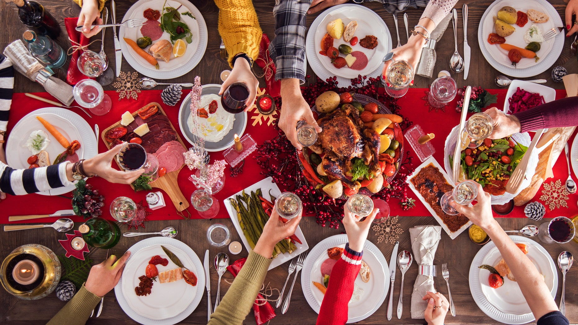 According to Sweden's Lund University researchers, a person's risk for heart attack reaches its peak when the clock strikes 10 p.m. on Dec. 24.