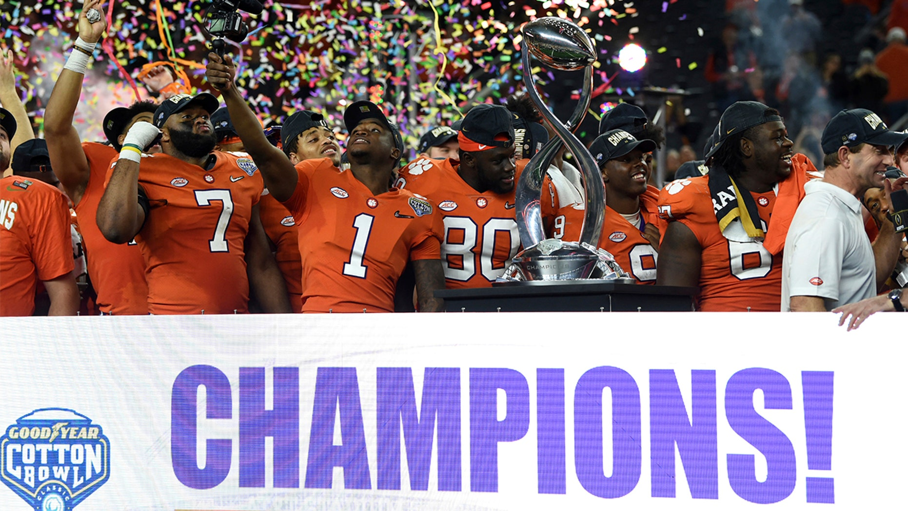 Clemson defeats Notre Dame, 30-3, in NCAA Cotton Bowl ...