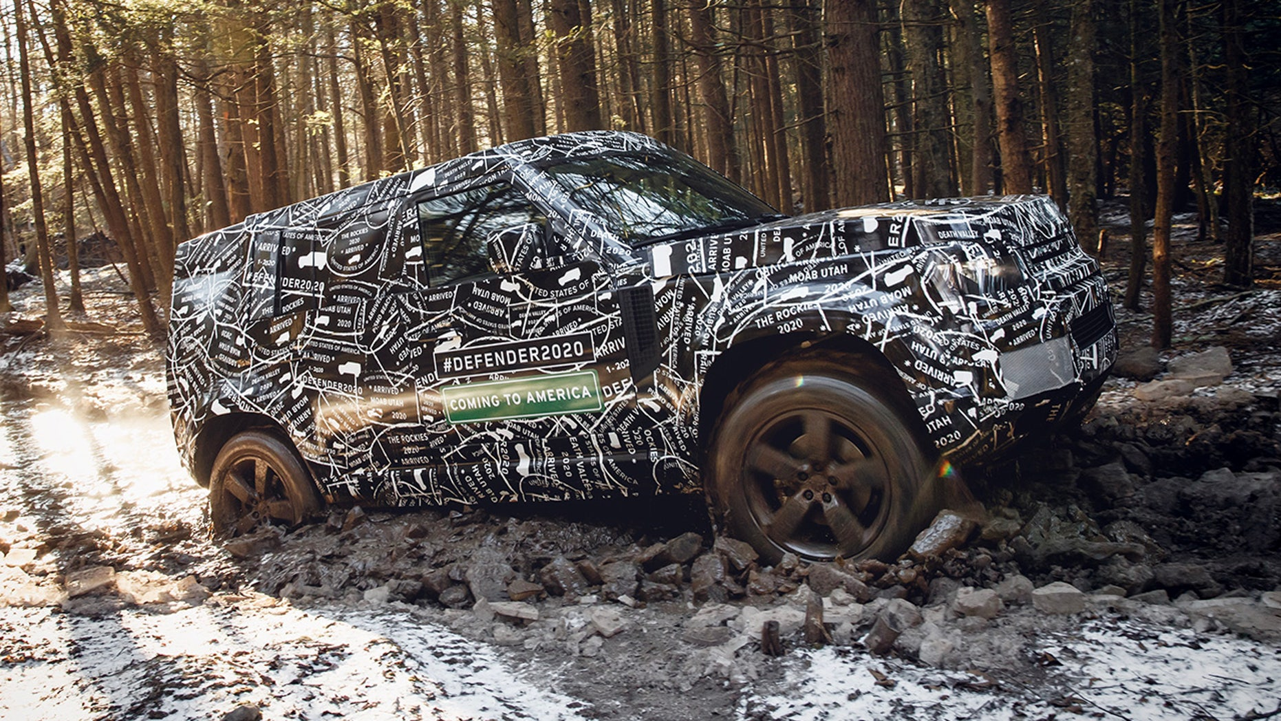 All-new 2020 Land Rover Defender will debut next year