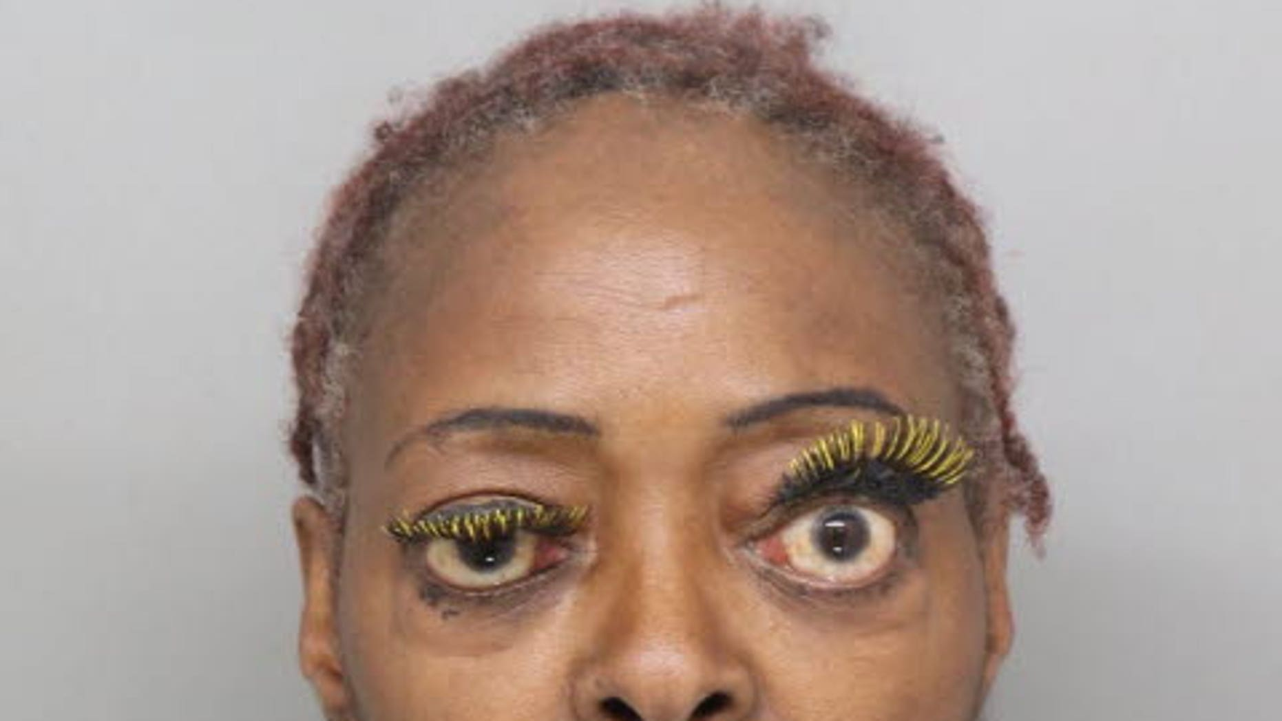 Charlene Thompson, 61, allegedly pours another woman with hot fat during a rally.