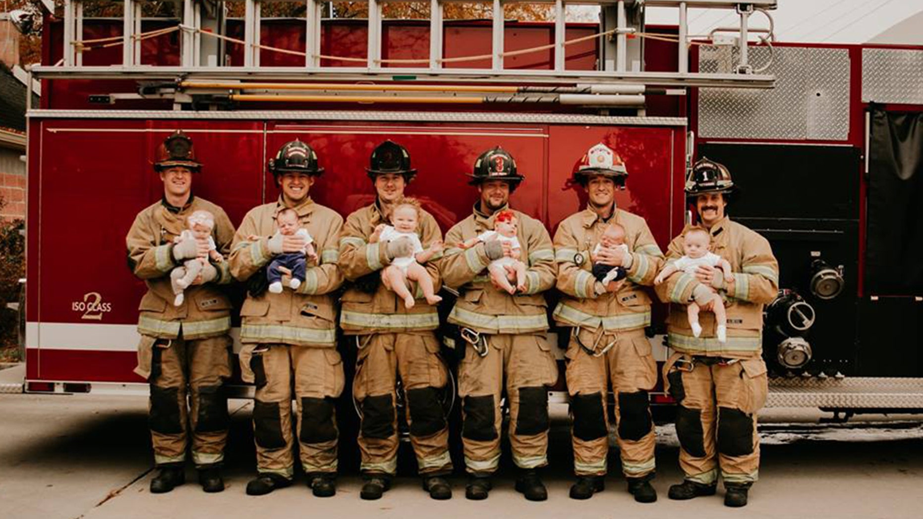 A fire department in Tennessee welcomed six new members in a nine-month period.