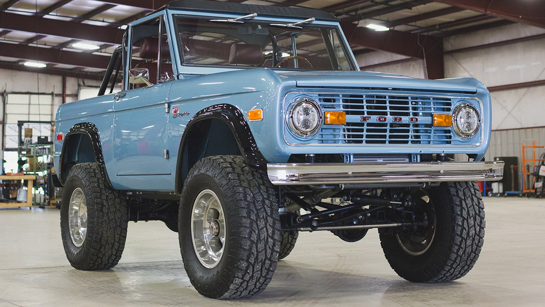 Brand New Classic Ford Broncos Now On Sale