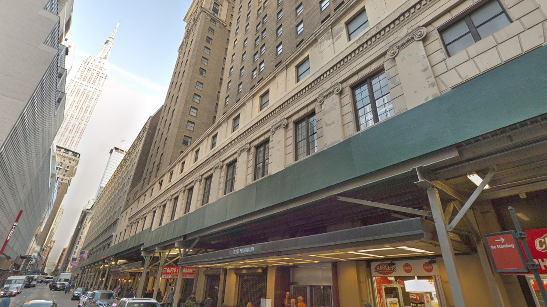 A 4-month-old boy died Saturday after he was found unconscious and unresponsive in the Hotel Pennsylvania lobby. Police apprehended two women who were with him, and they're expected to face charges.