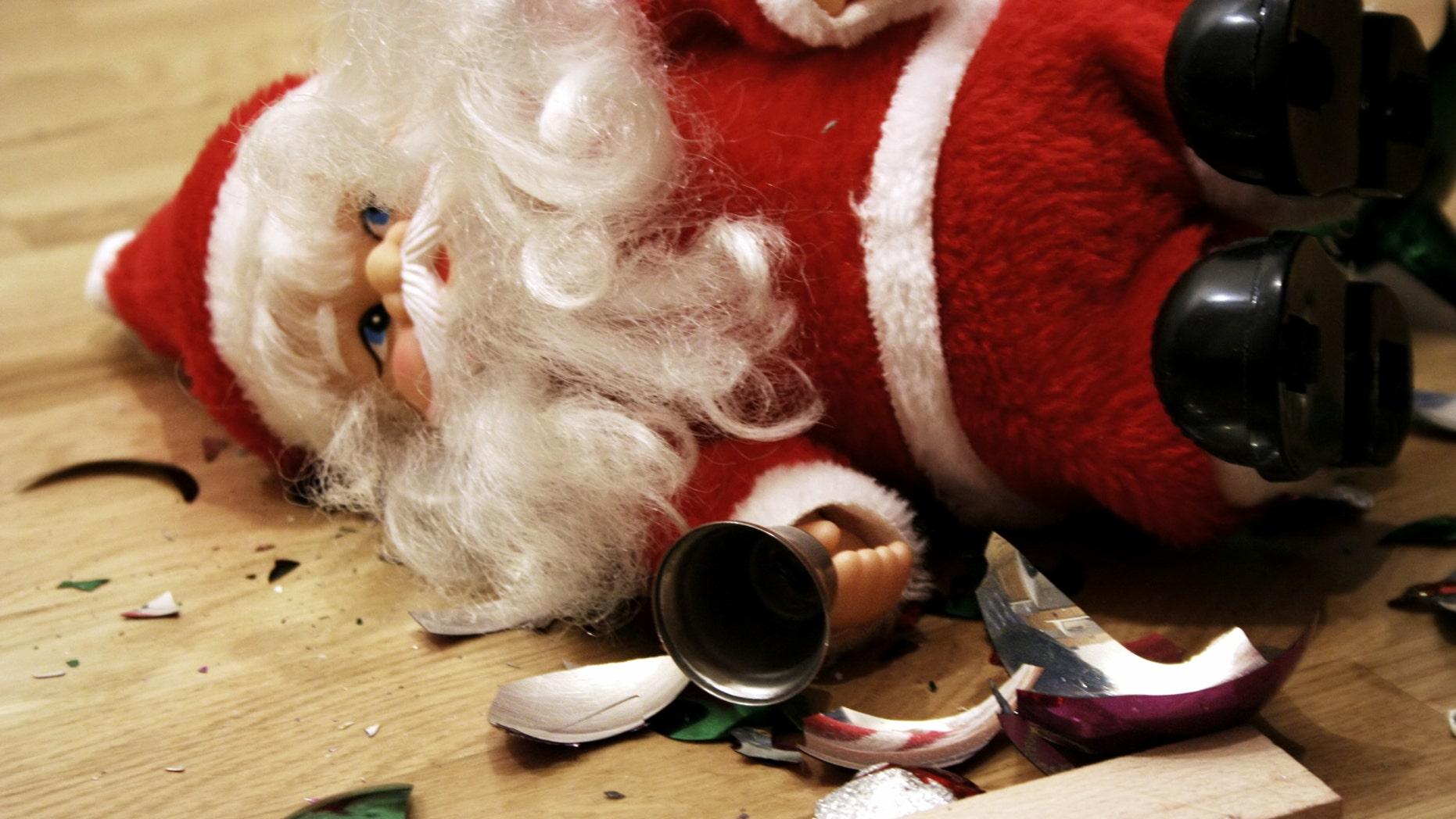 A Florida Christmas festival took a a negative turn on Saturday.