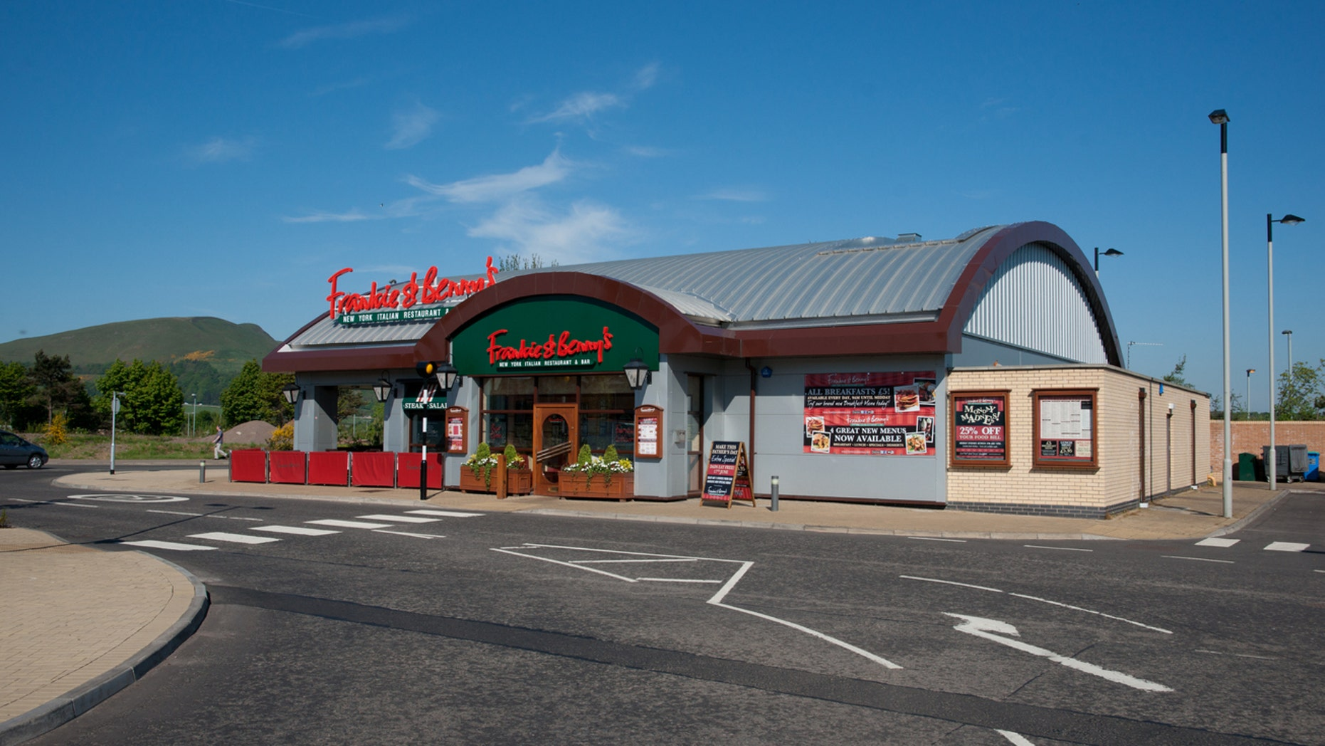 Frankie and Benny's in the UK provide an incentive to free parents from their phones.