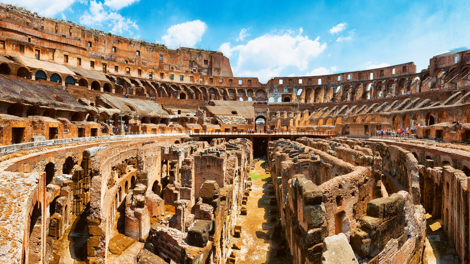 Tourist At Roman Colosseum Caught Stealing Brick During