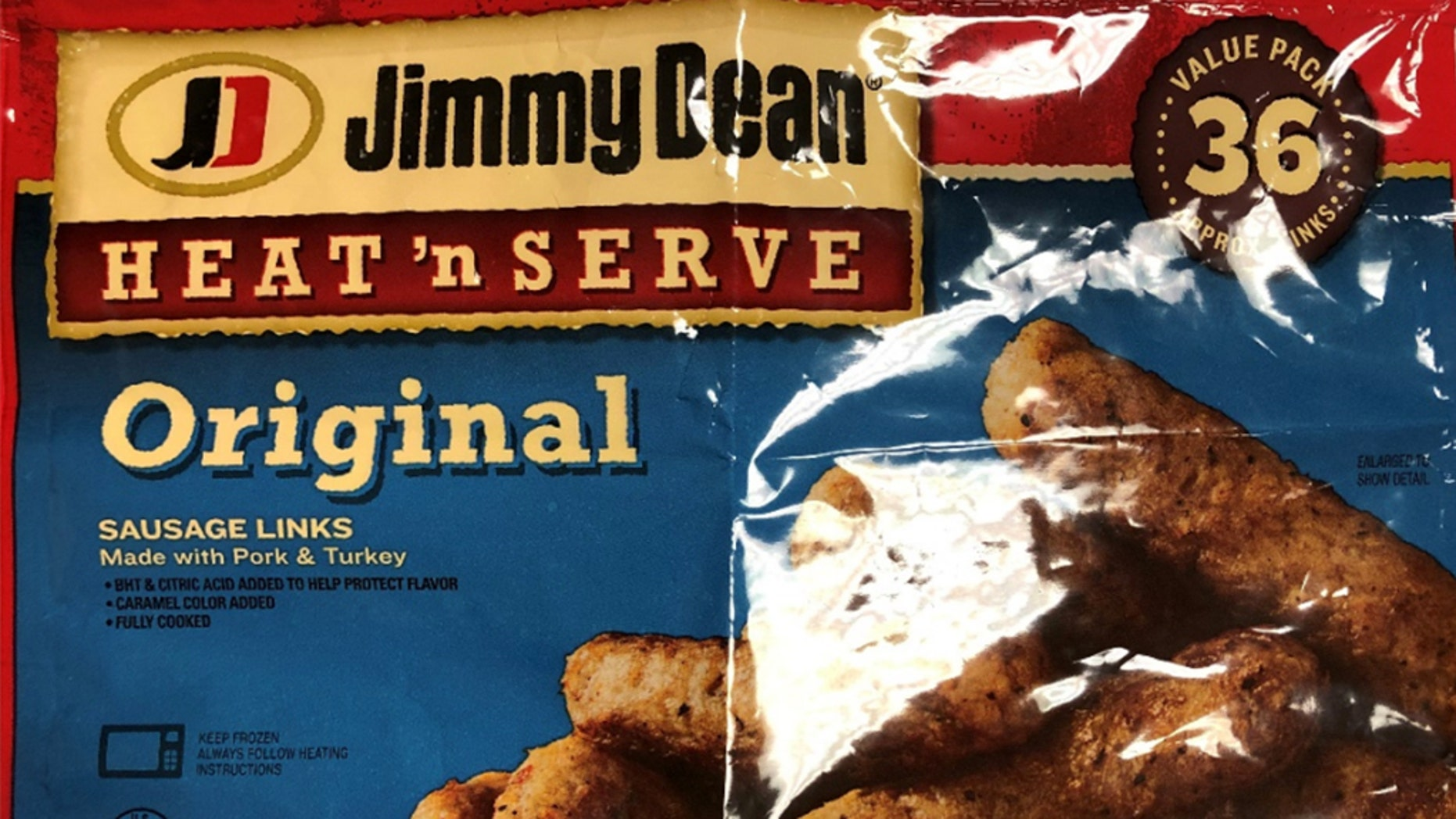 More than 29,000 pounds of the sausage links were recalled.