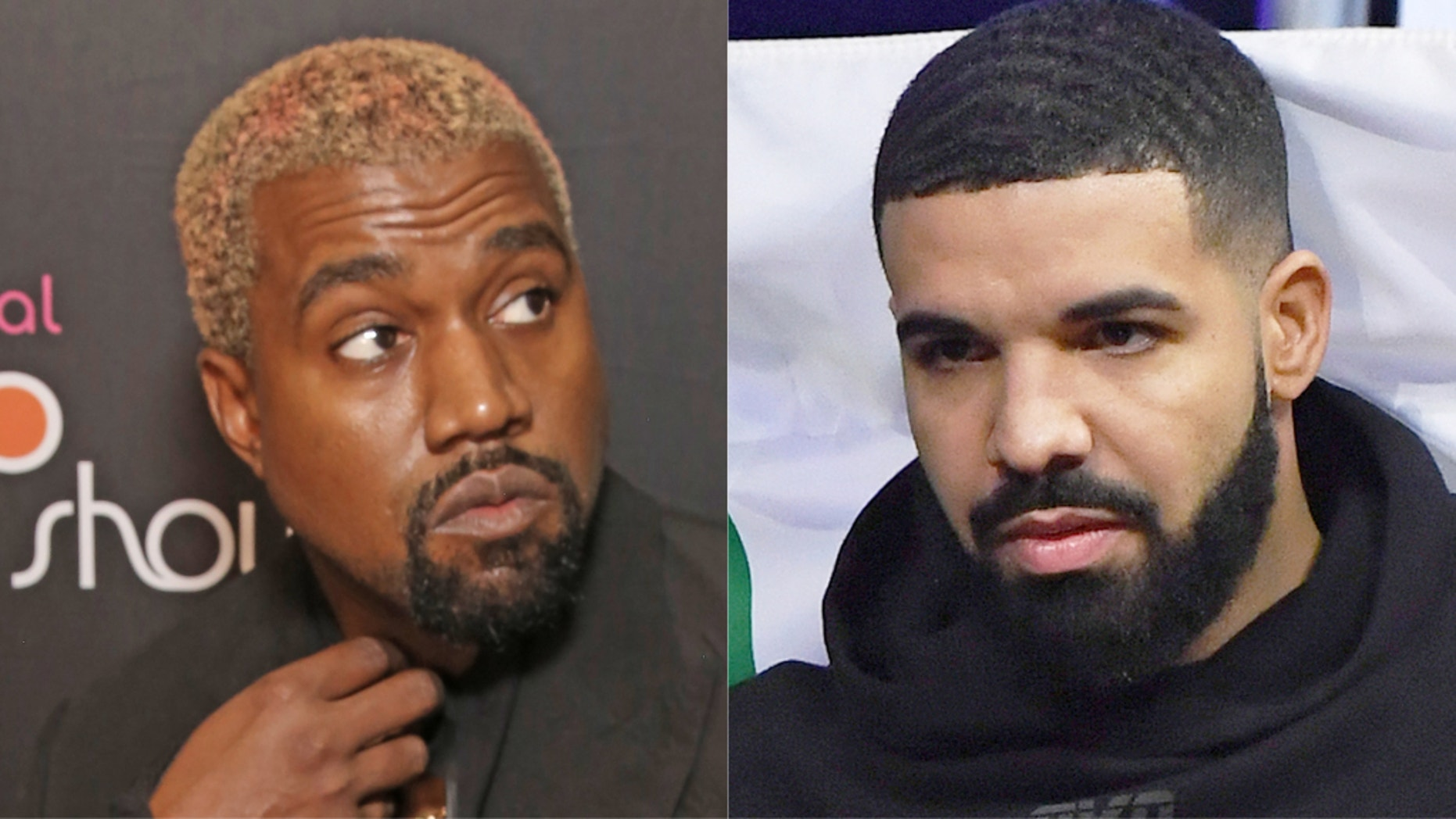 Kanye West and Drake