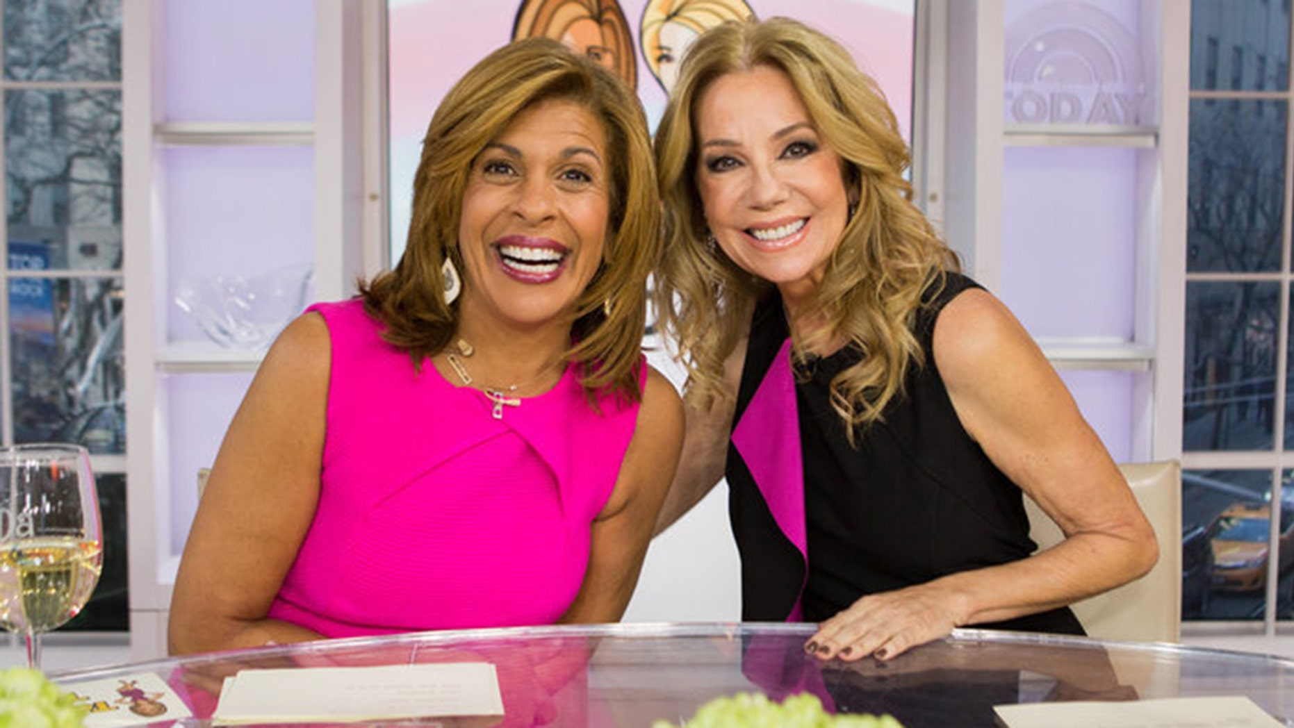 Kathie lee gifford 39 s 39 today 39 show departure shocks fans - Nbc today show kathie lee and hoda ...