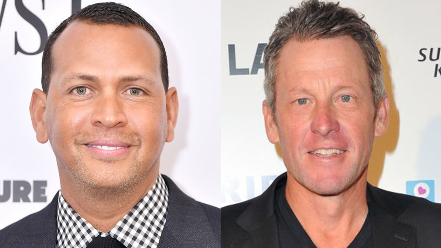 Lance Armstrong took a jab at Alex Rodriguez in an interview Thursday.